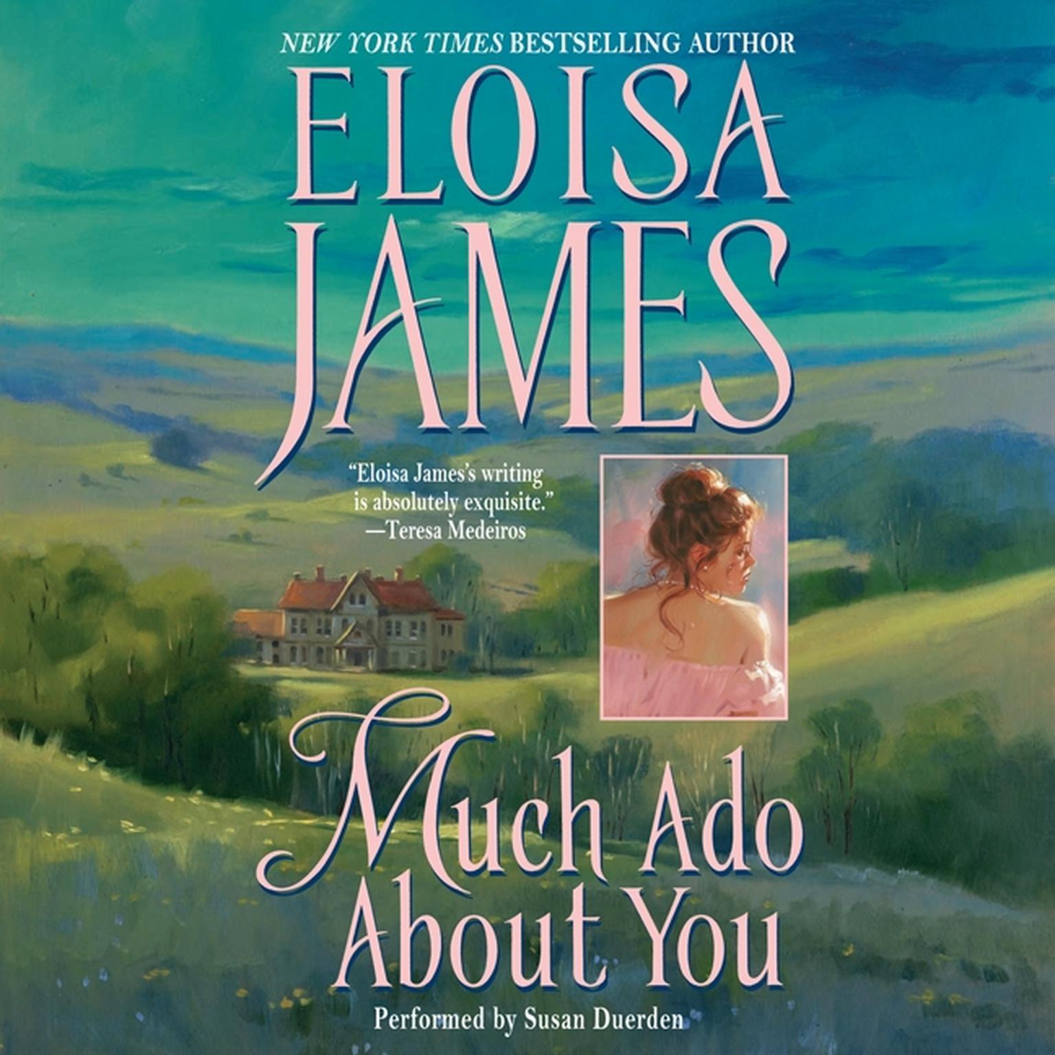 Printable Much Ado About You Audiobook Cover Art