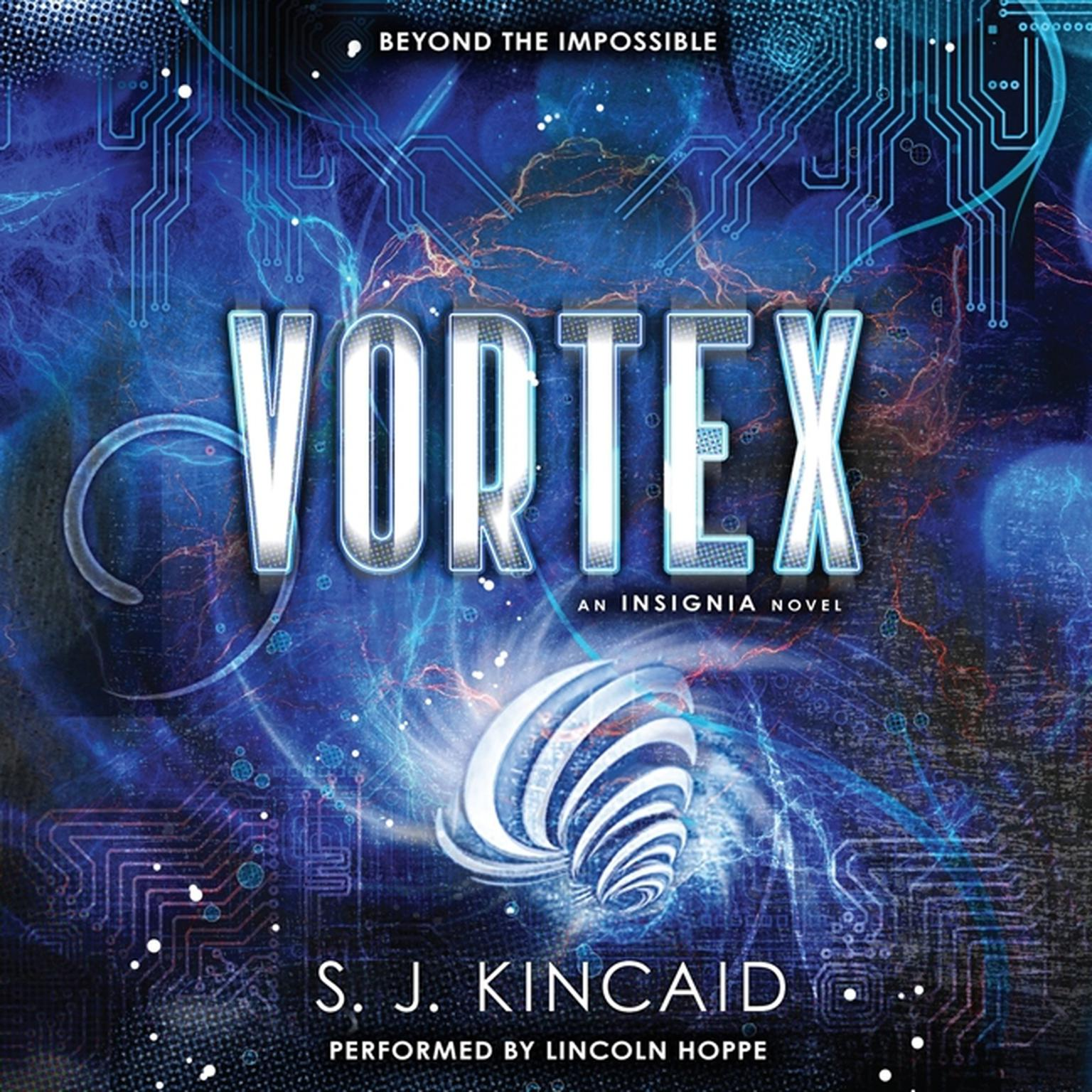 Printable Vortex Audiobook Cover Art