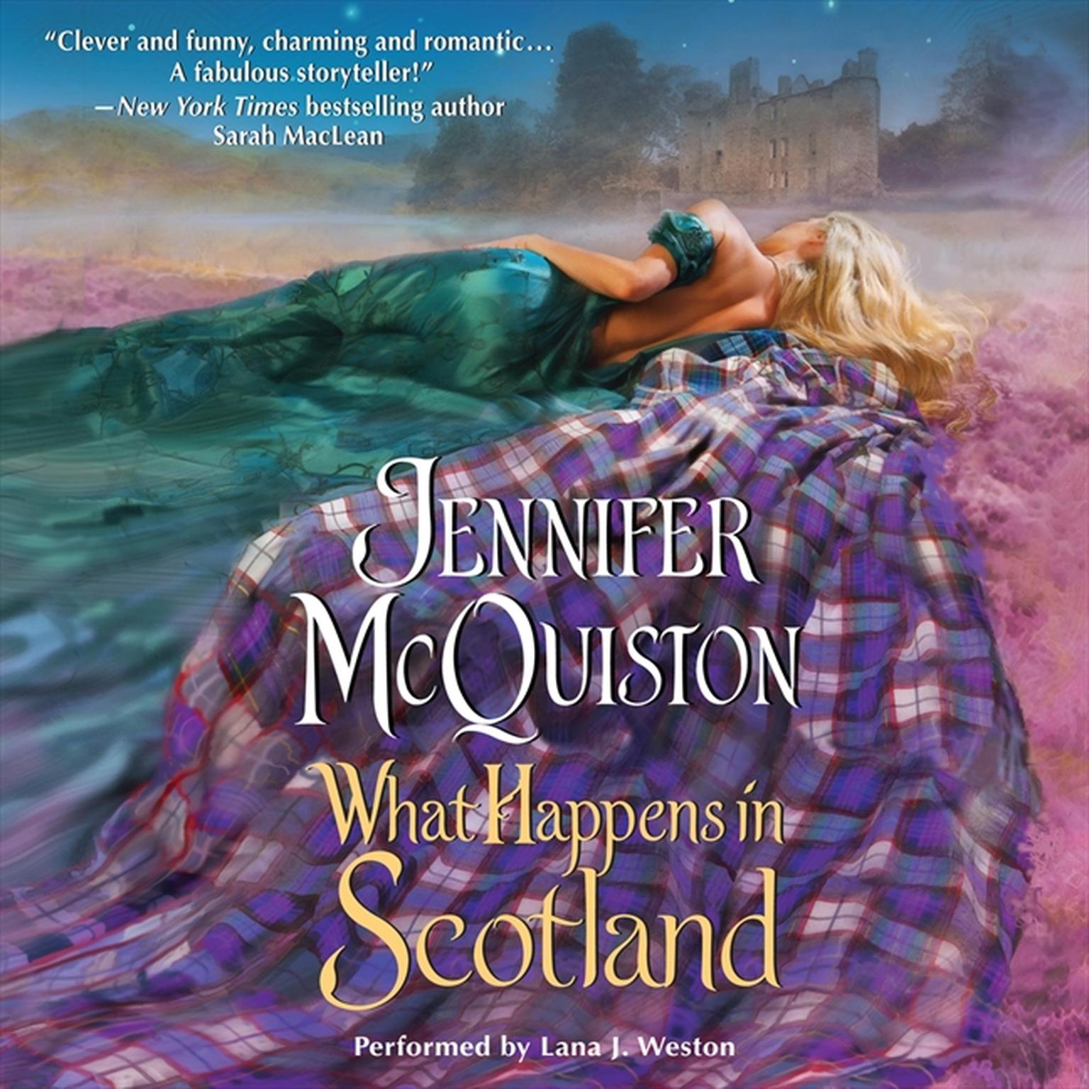 Printable What Happens in Scotland Audiobook Cover Art