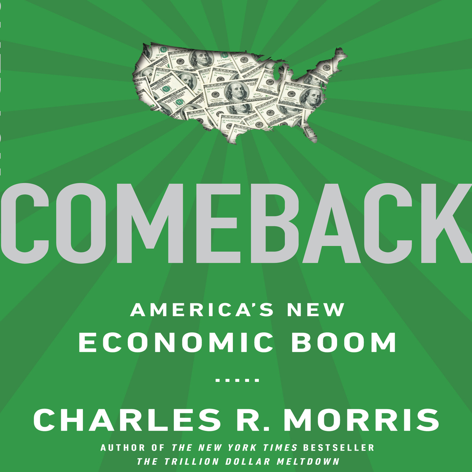Printable Comeback: America's New Economic Boom Audiobook Cover Art