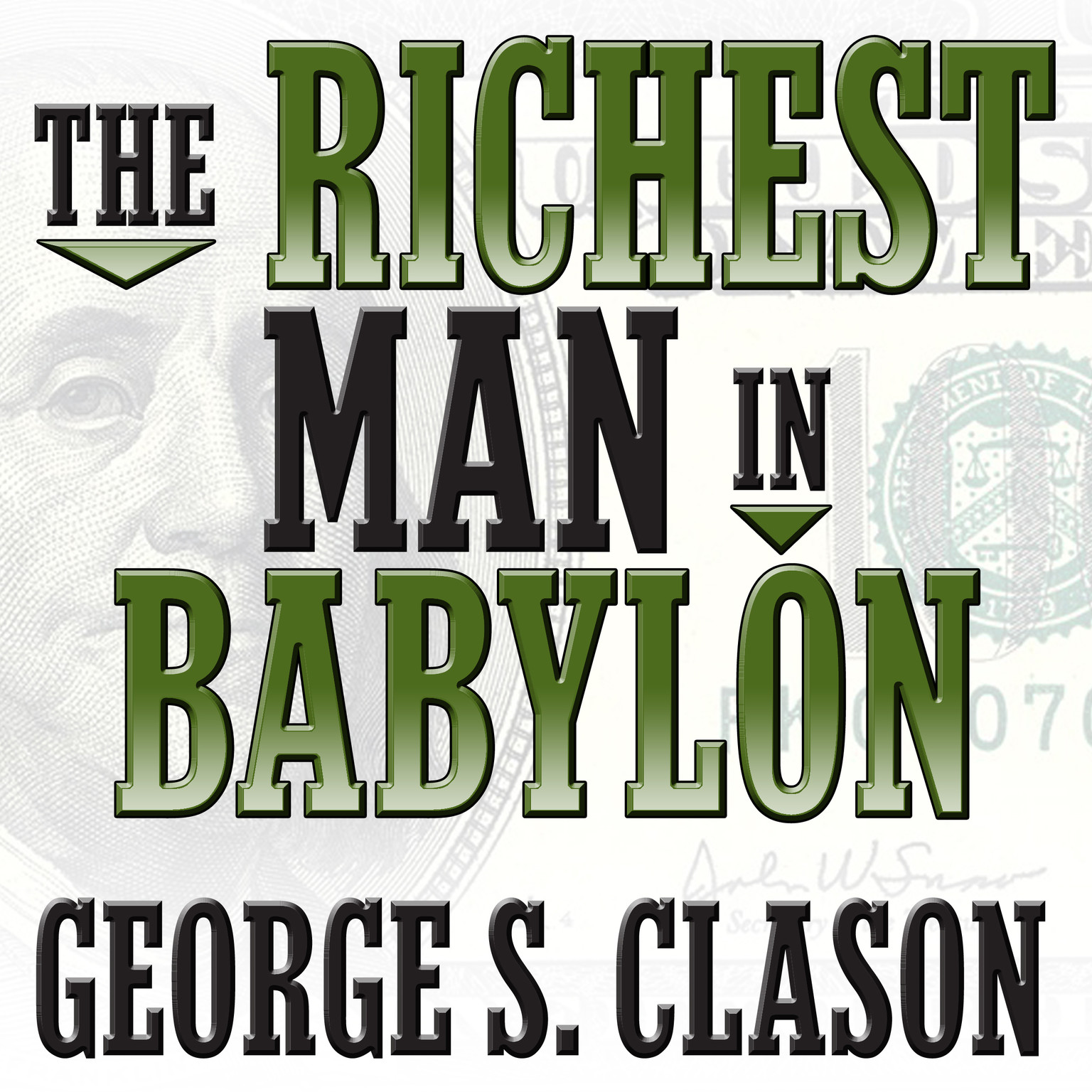 Printable The Richest Man in Babylon Audiobook Cover Art