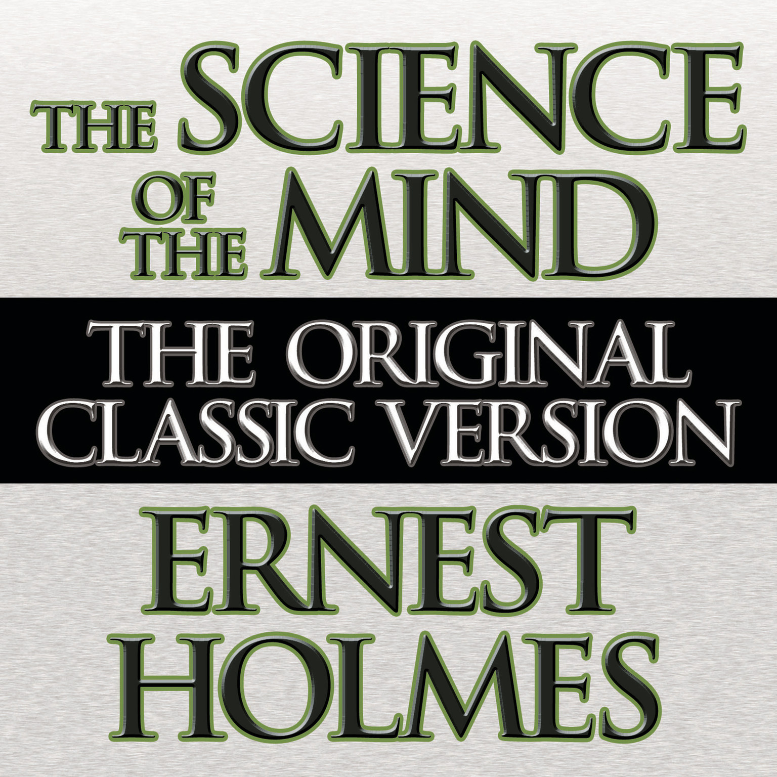 Printable The Science the Mind Audiobook Cover Art