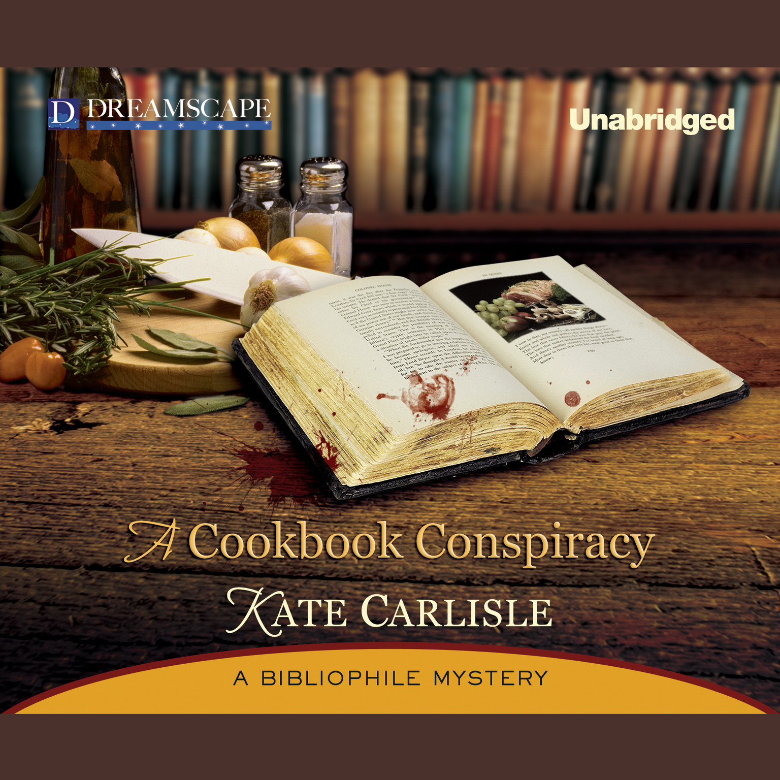 Printable A Cookbook Conspiracy Audiobook Cover Art