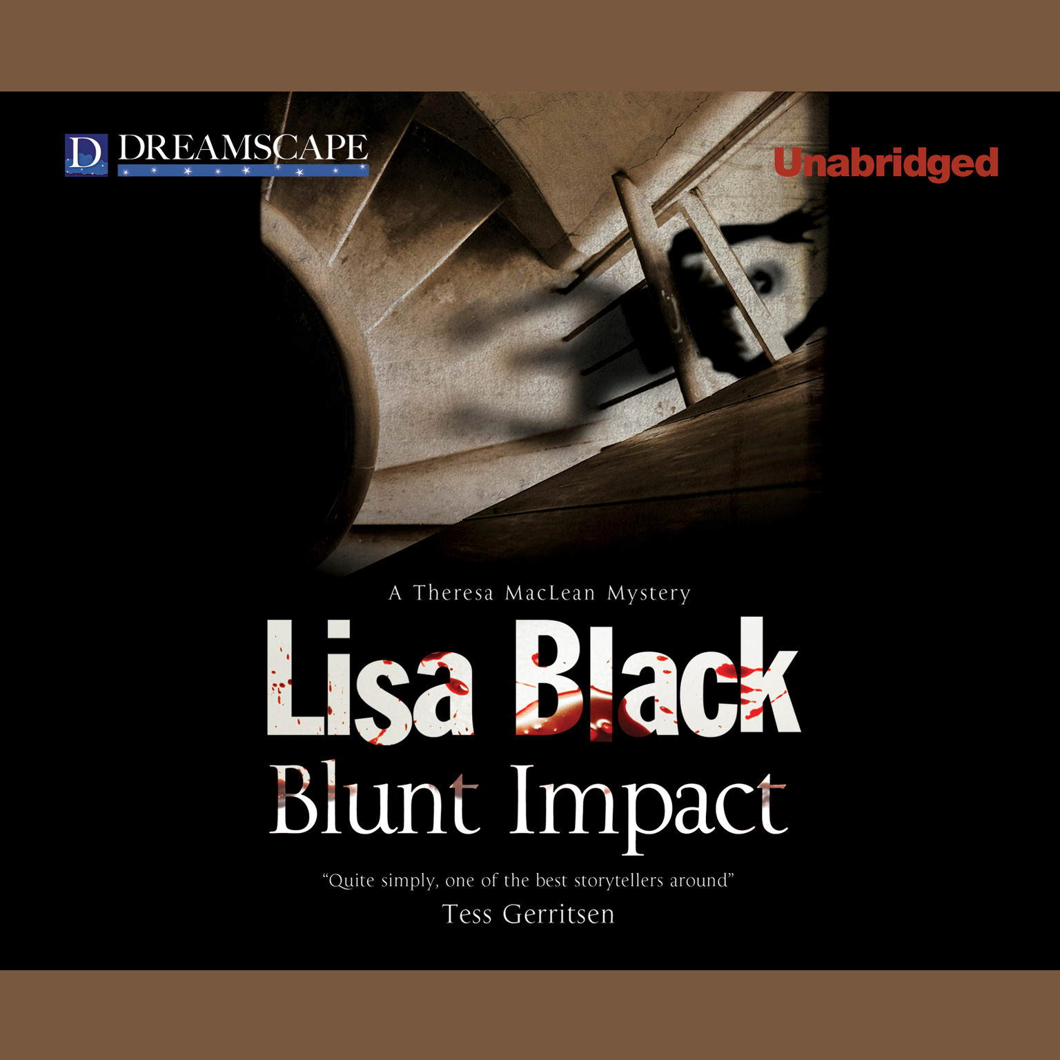 Printable Blunt Impact: A Theresa MacLean Mystery Audiobook Cover Art