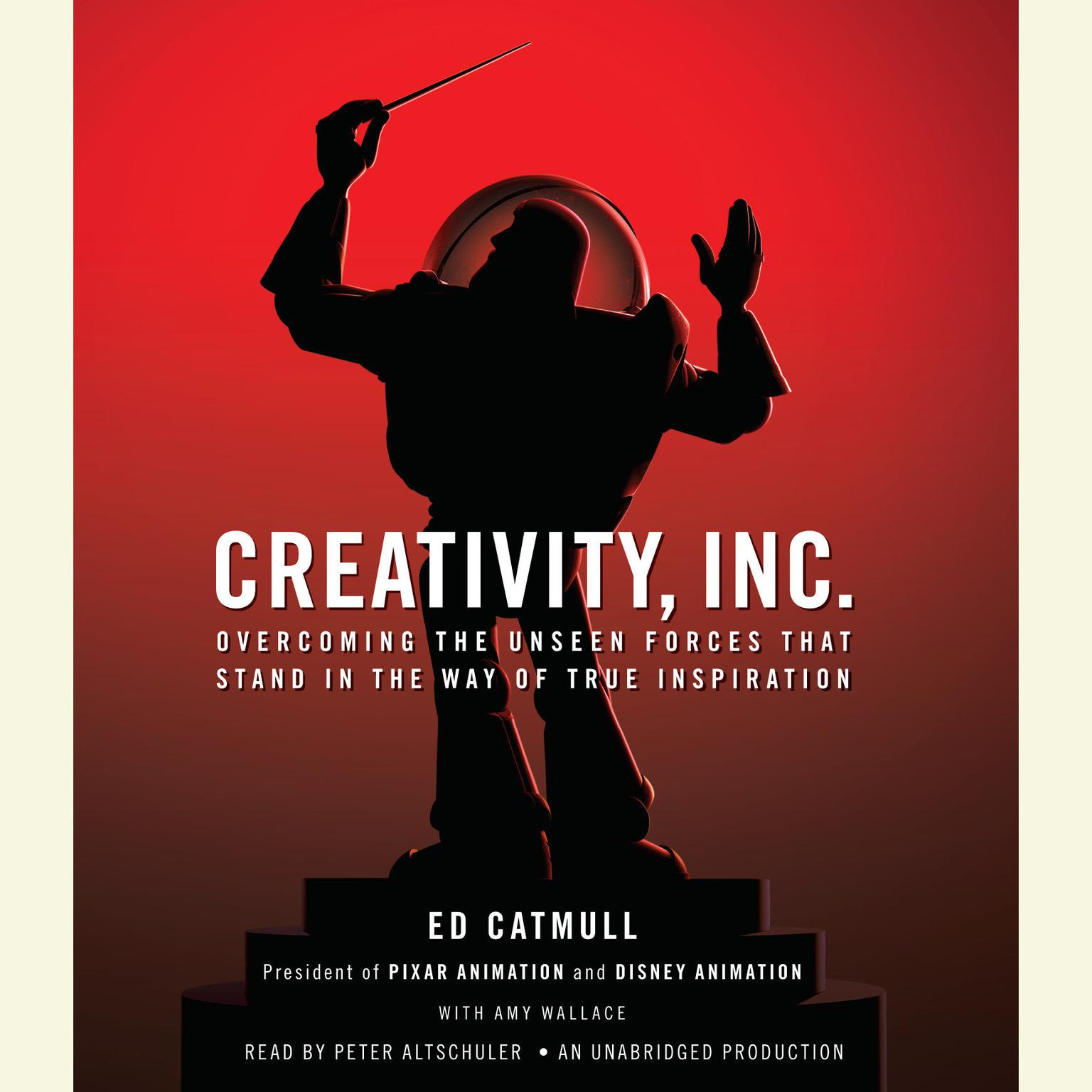 Printable Creativity, Inc.: Overcoming the Unseen Forces That Stand in the Way of True Inspiration Audiobook Cover Art