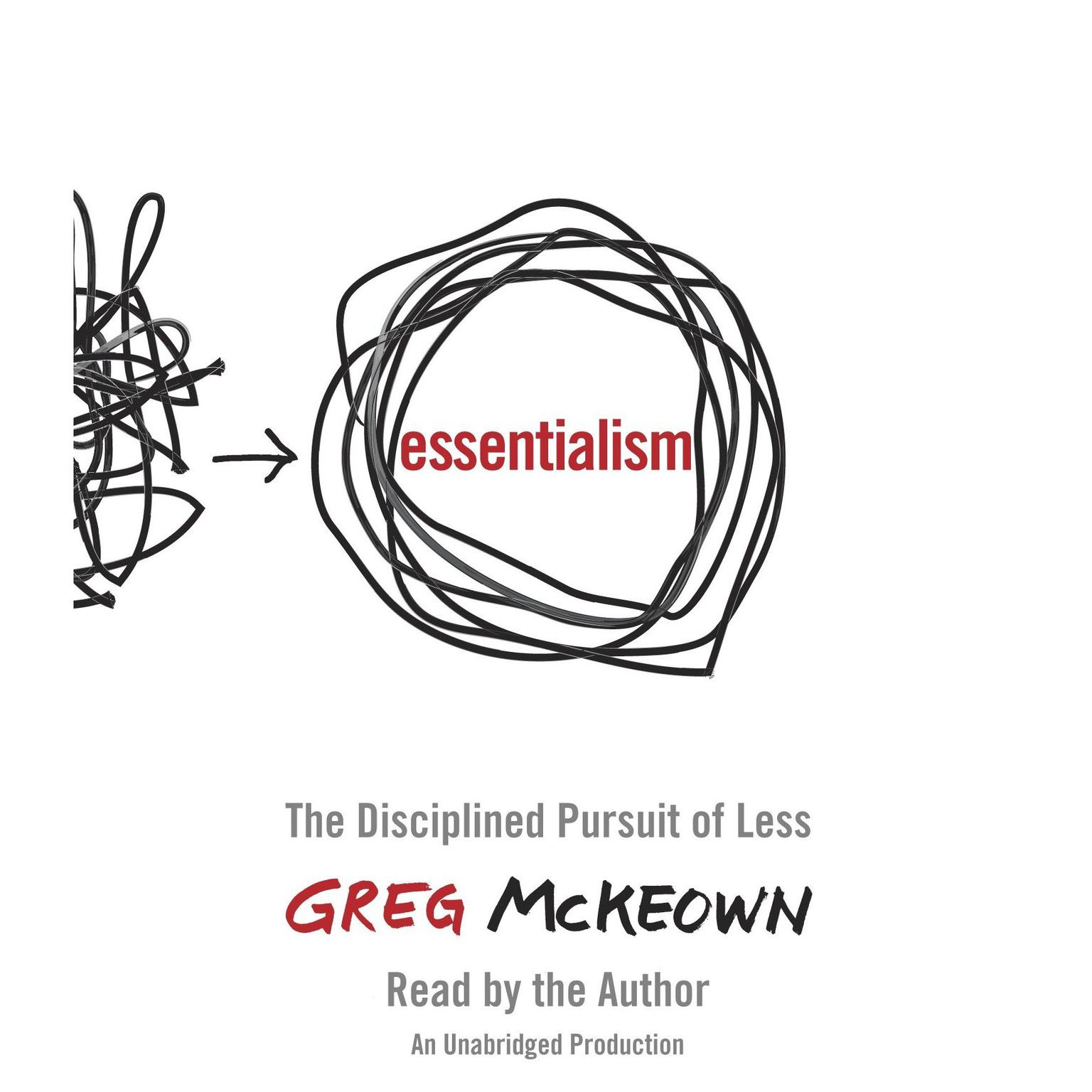 Printable Essentialism: The Disciplined Pursuit of Less Audiobook Cover Art