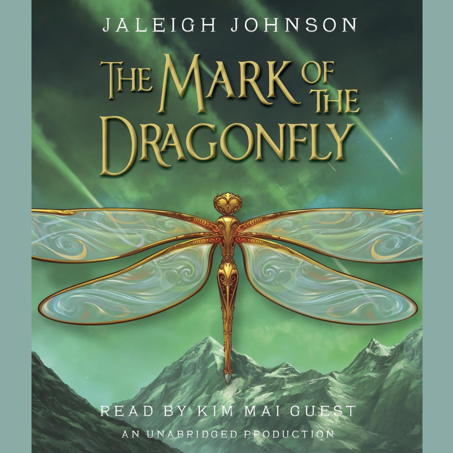 Printable The Mark of the Dragonfly Audiobook Cover Art