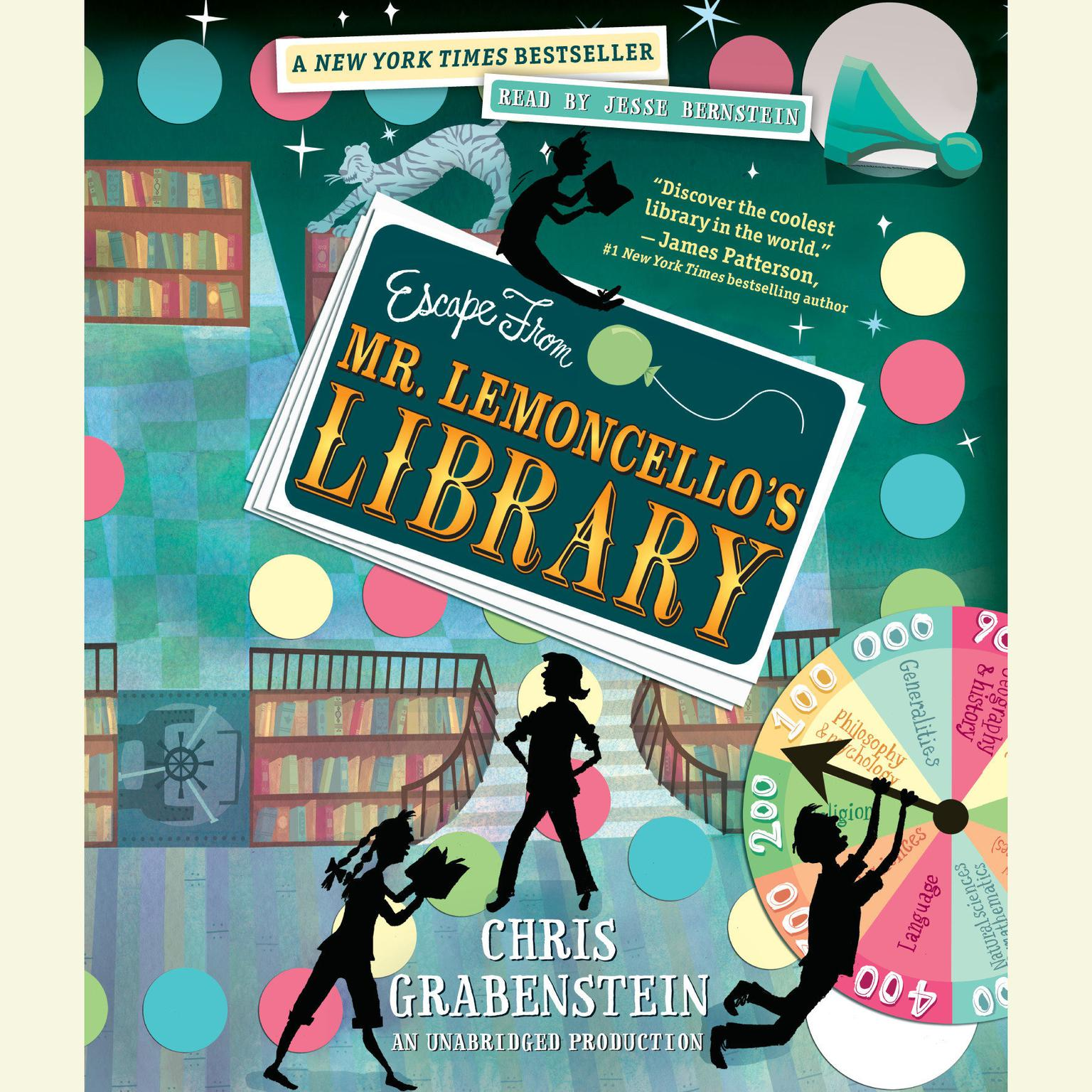 Printable Escape from Mr. Lemoncello's Library Audiobook Cover Art