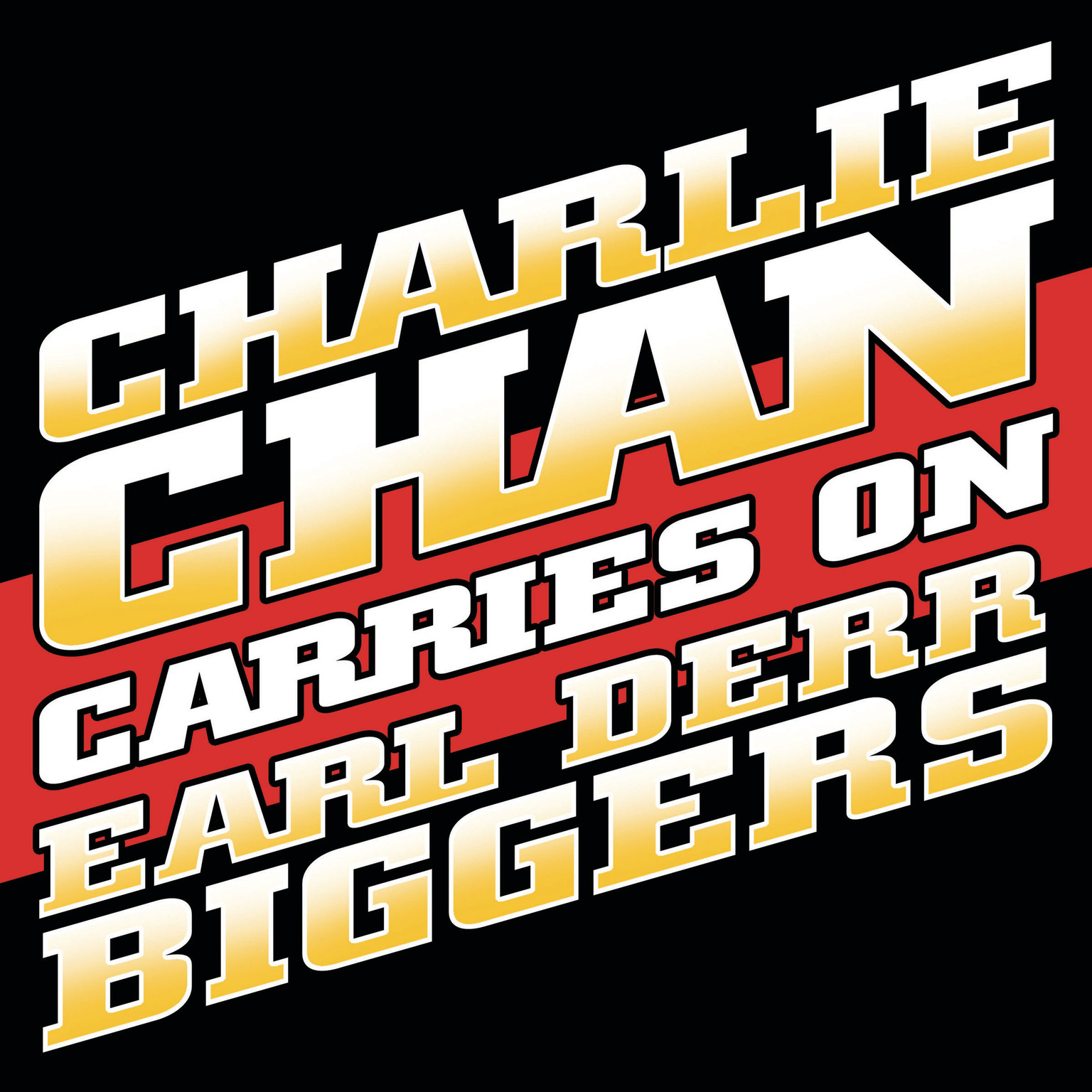 Printable Charlie Chan Carries On Audiobook Cover Art