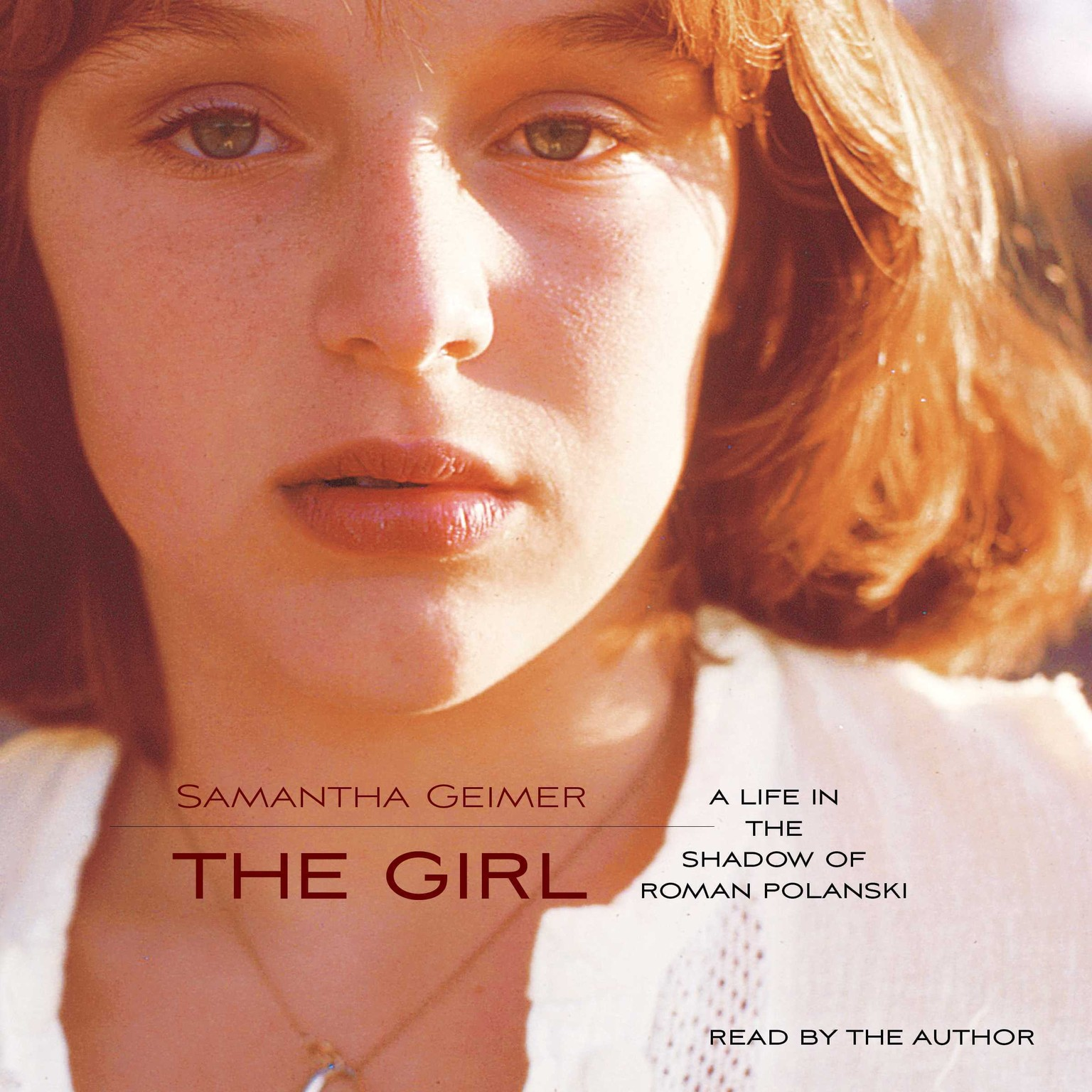 Printable The Girl: A Life Lived in the Shadow of Roman Polanski Audiobook Cover Art