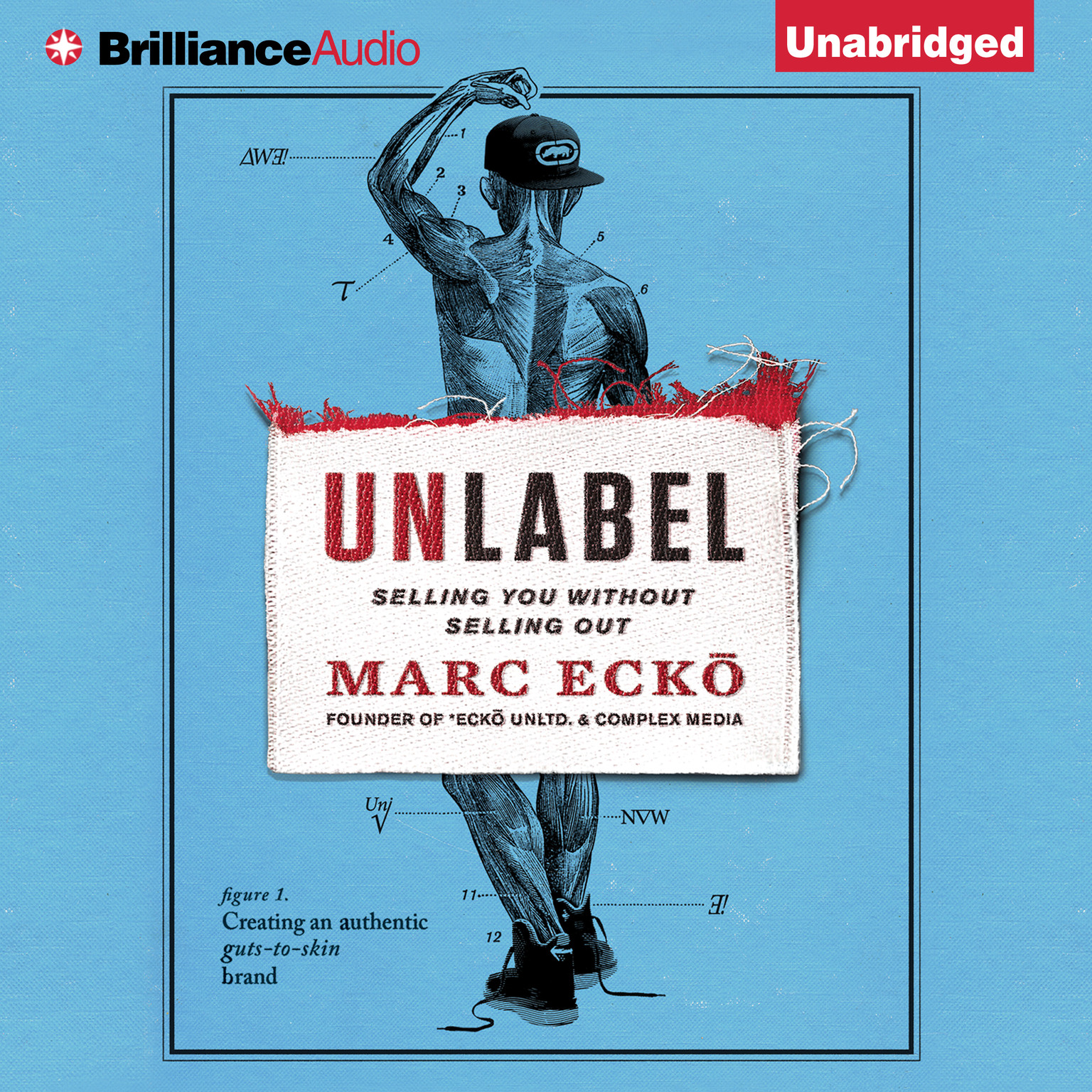 Printable Unlabel: Selling You Without Selling Out Audiobook Cover Art