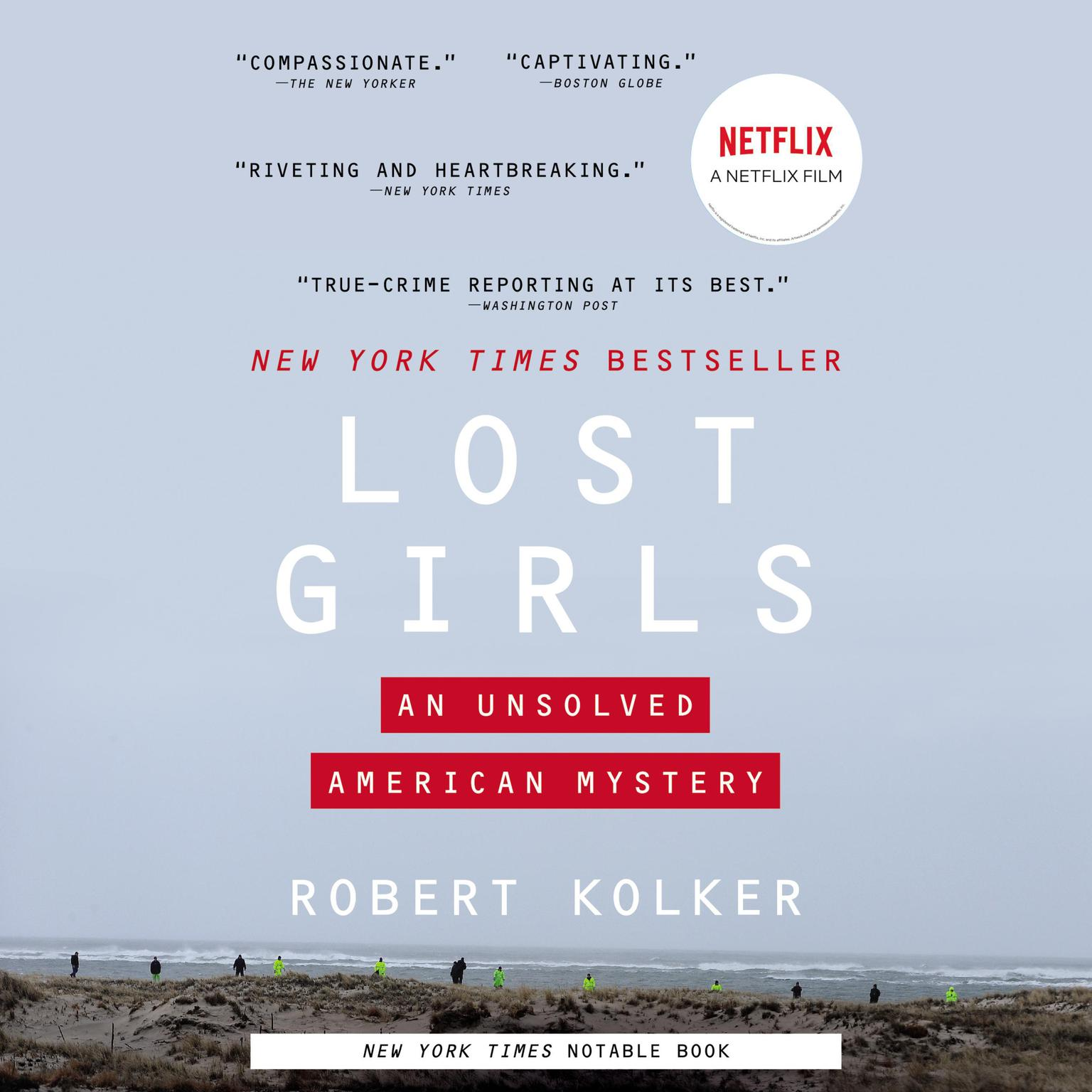 Printable Lost Girls: An Unsolved American Mystery Audiobook Cover Art
