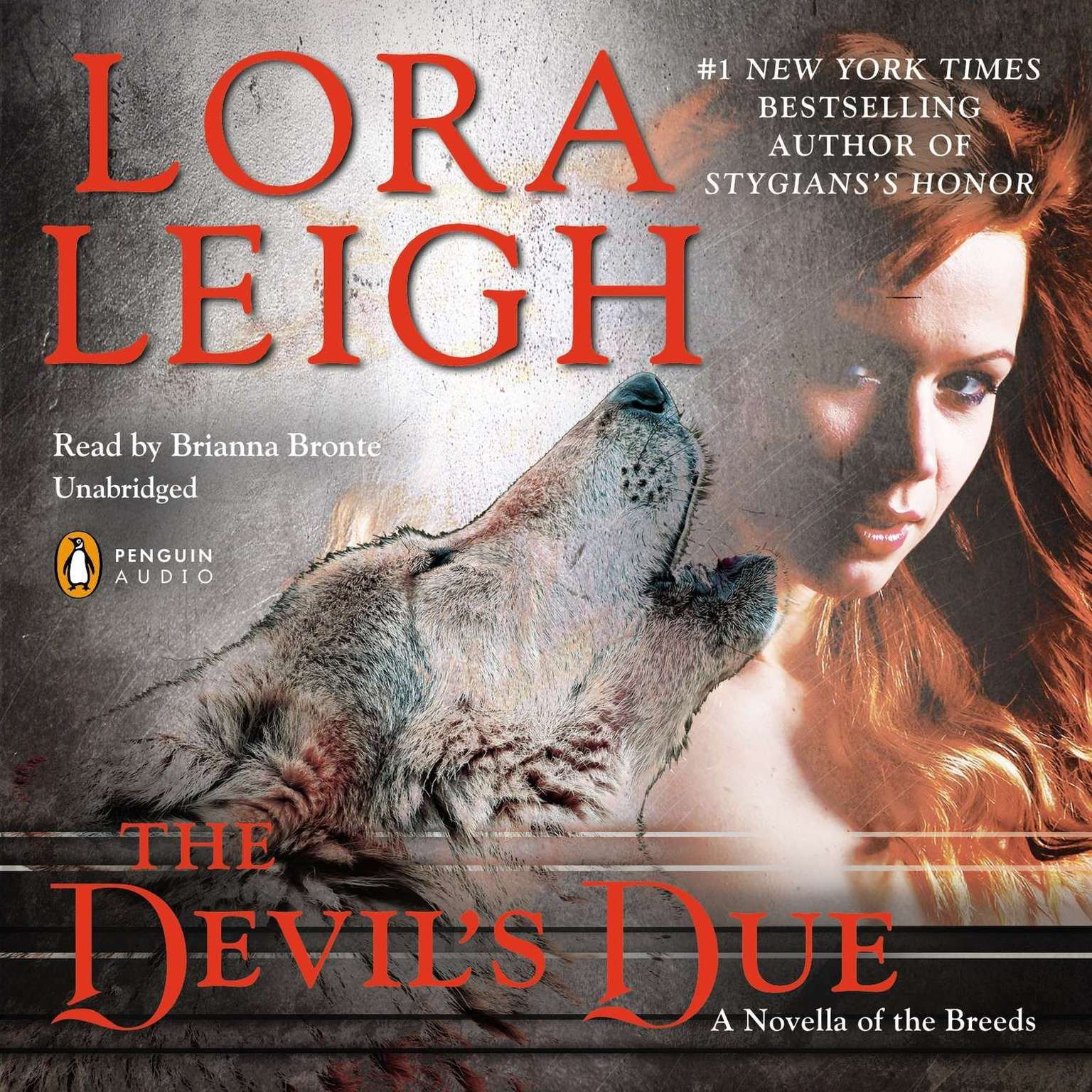 Printable The Devil's Due: A Novella of the Breeds, from ENTHRALLED Audiobook Cover Art