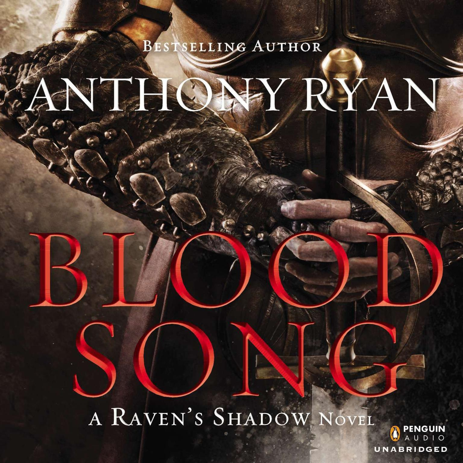 Printable Blood Song Audiobook Cover Art