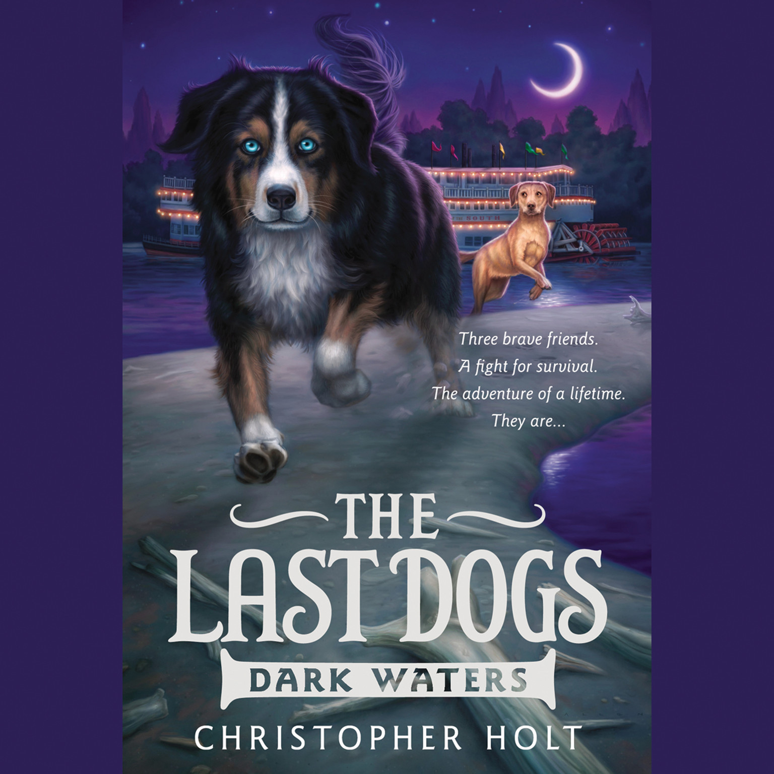 Printable The Last Dogs: Dark Waters Audiobook Cover Art