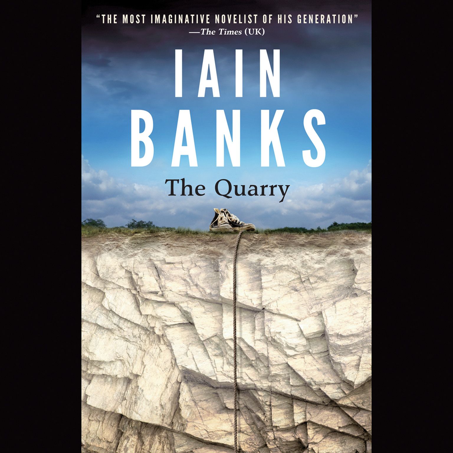 Printable The Quarry Audiobook Cover Art