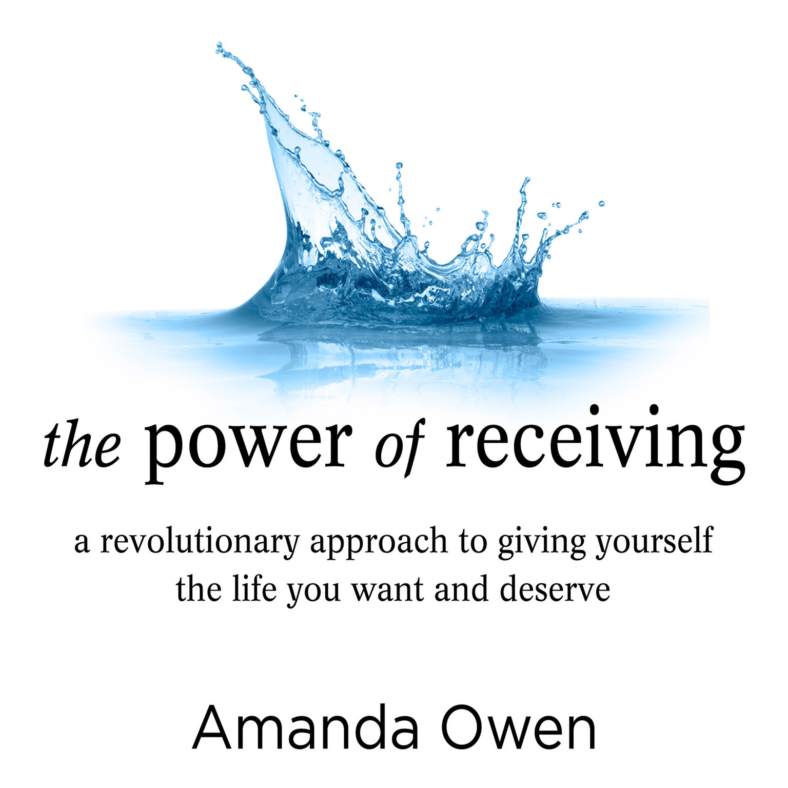 Printable The Power of Receiving: A Revolutionary Approach to Giving Yourself the Life You Want and Deserve Audiobook Cover Art