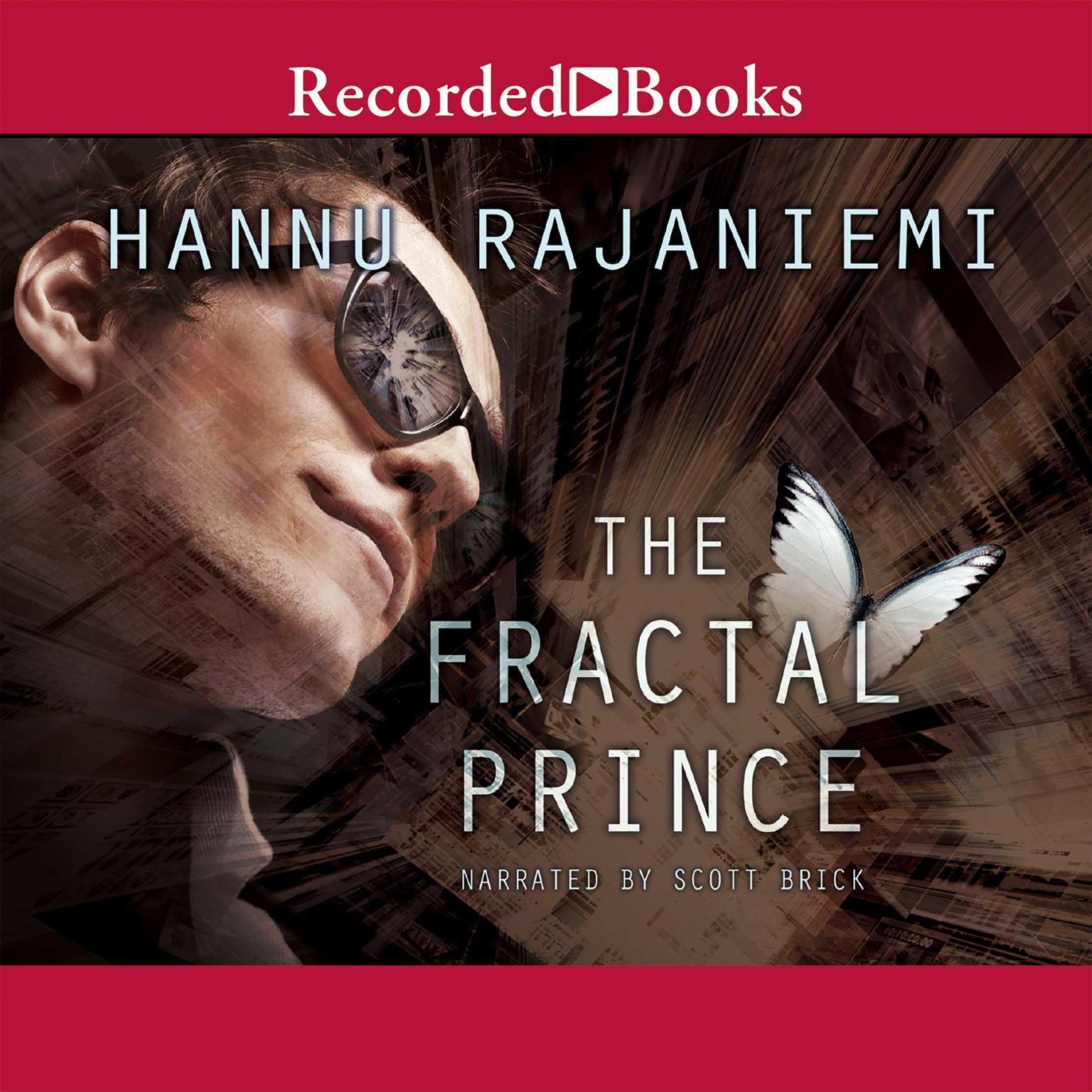 Printable The Fractal Prince Audiobook Cover Art