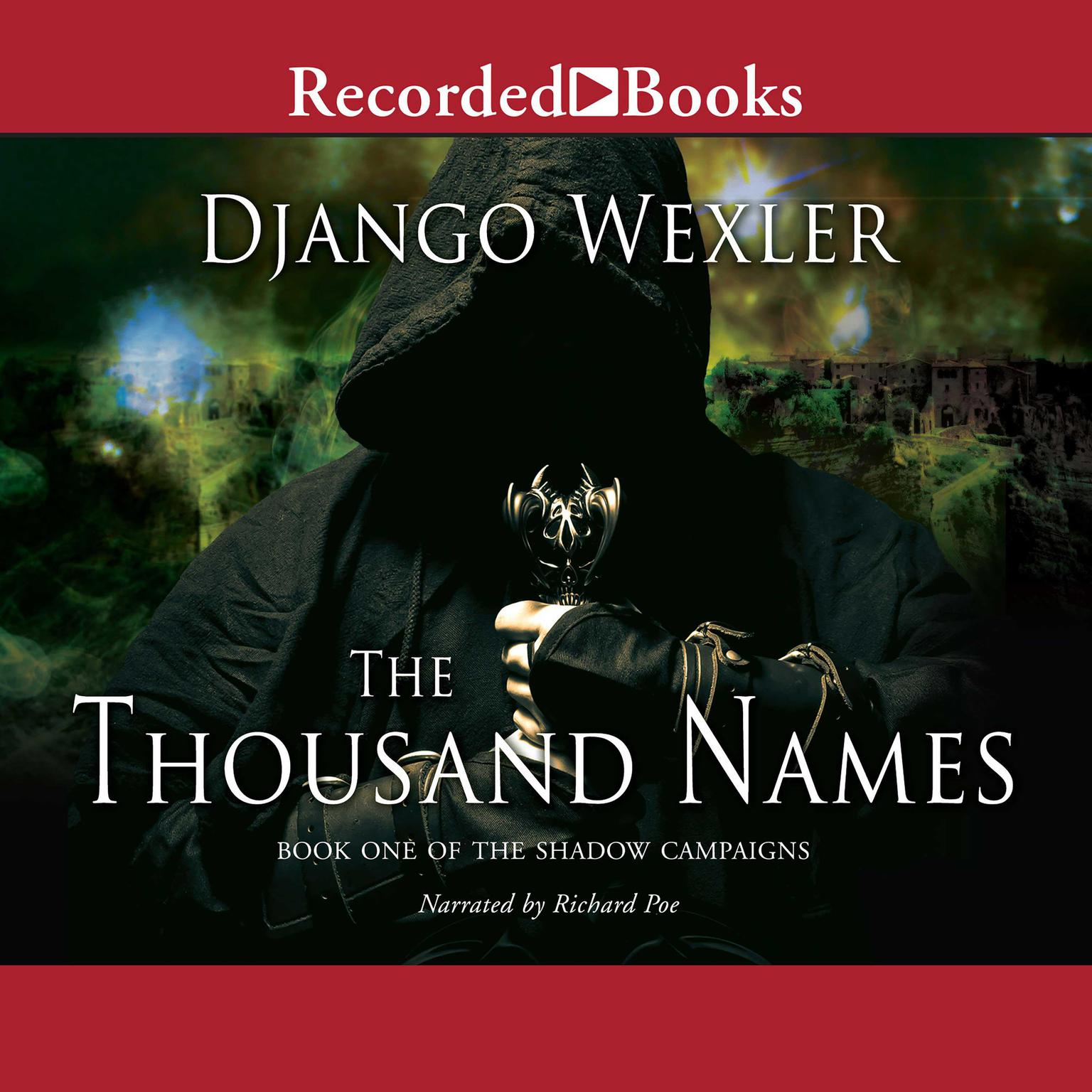 Printable The Thousand Names Audiobook Cover Art