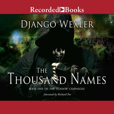 The Thousand Names Audiobook, by Django Wexler