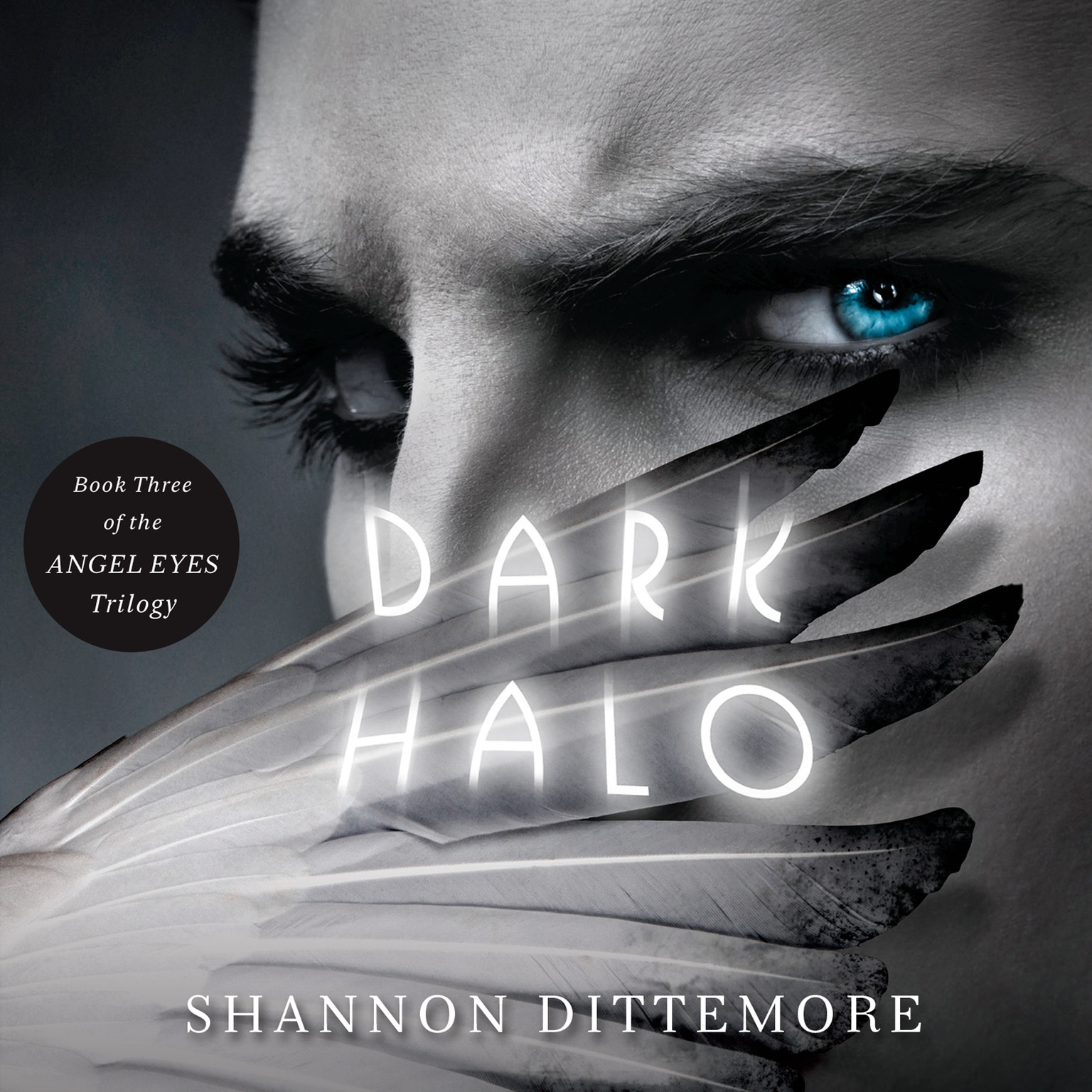 Printable Dark Halo Audiobook Cover Art
