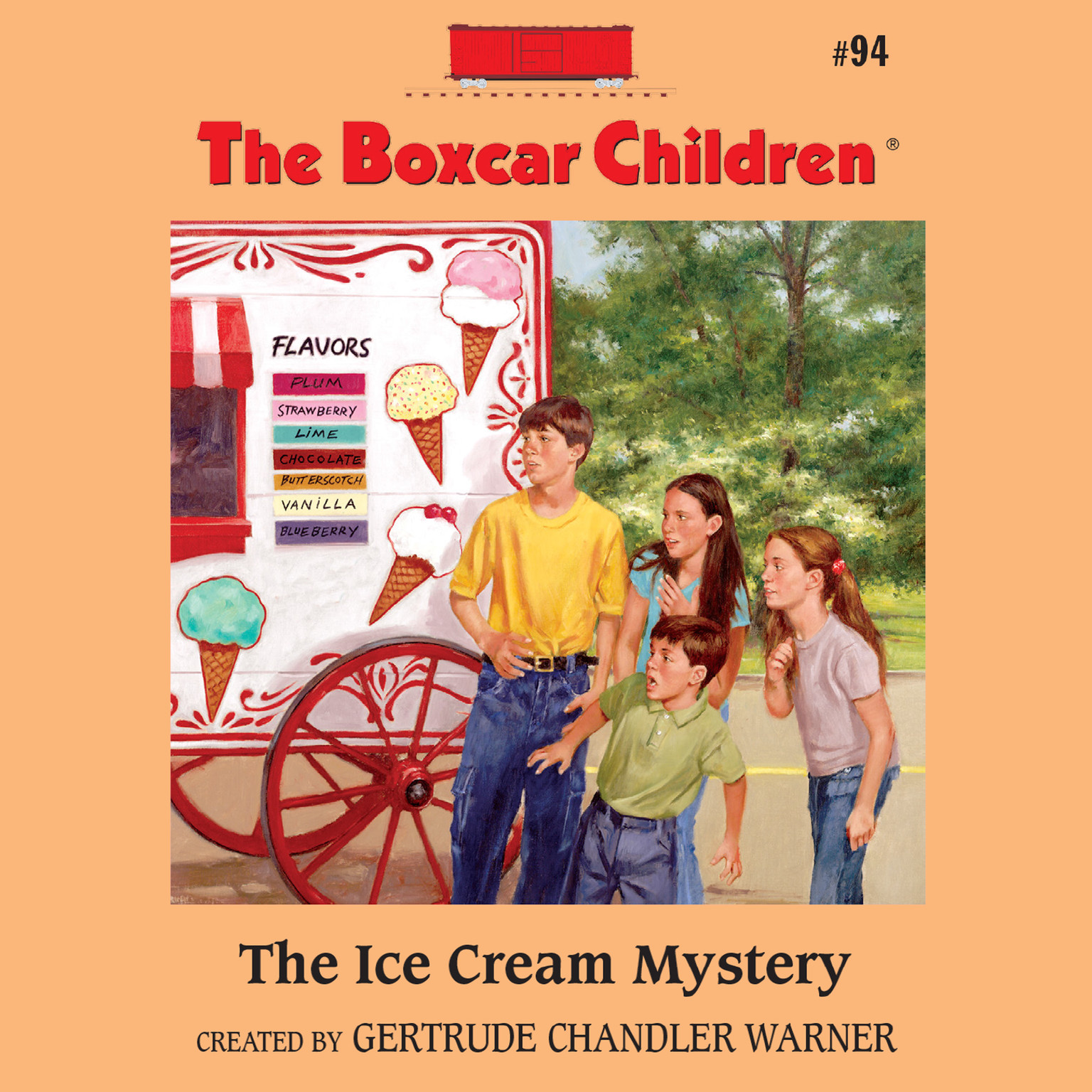 Printable The Ice Cream Mystery Audiobook Cover Art