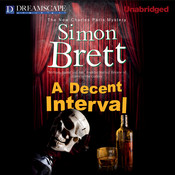 A Decent Interval Audiobook, by Simon Brett