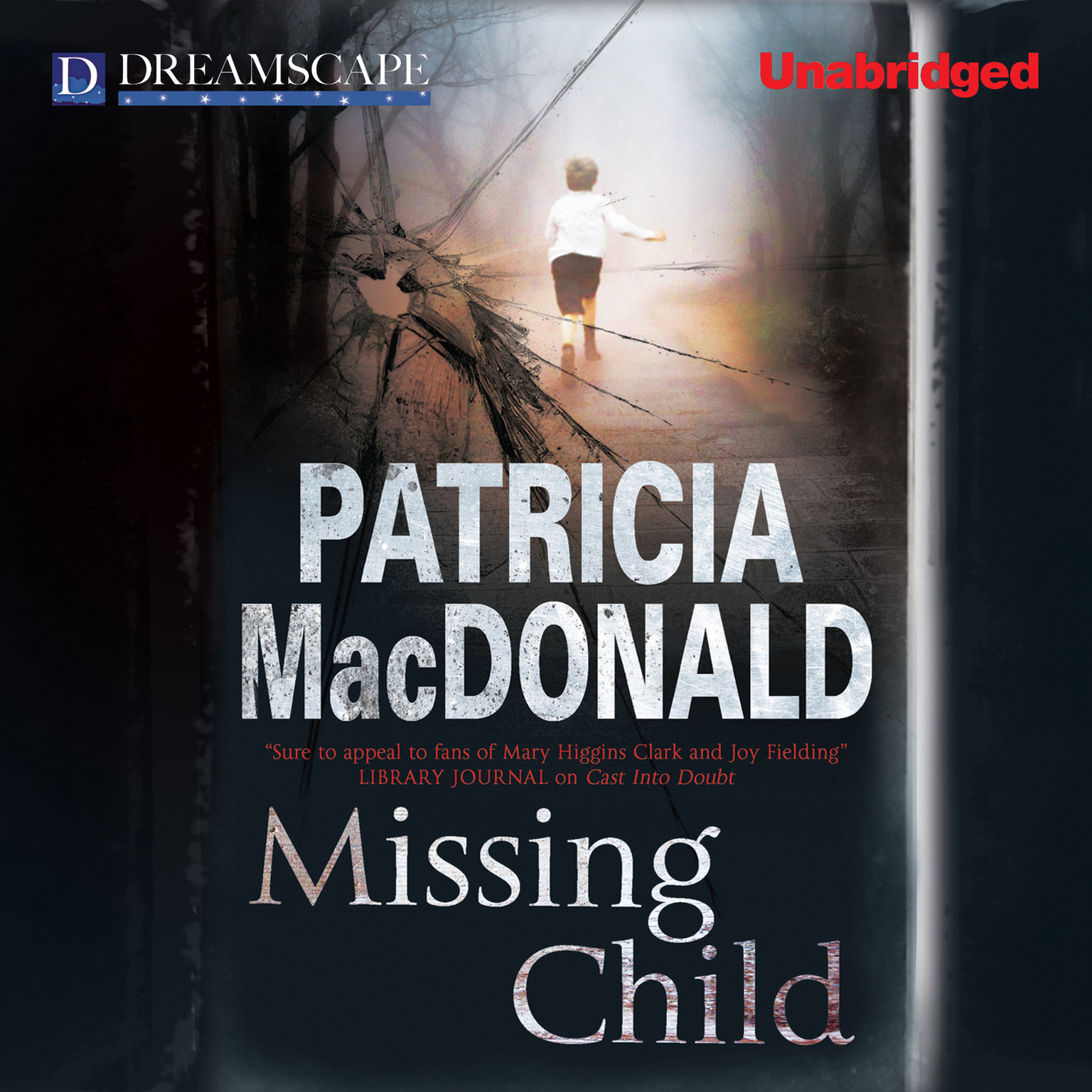 Printable Missing Child Audiobook Cover Art
