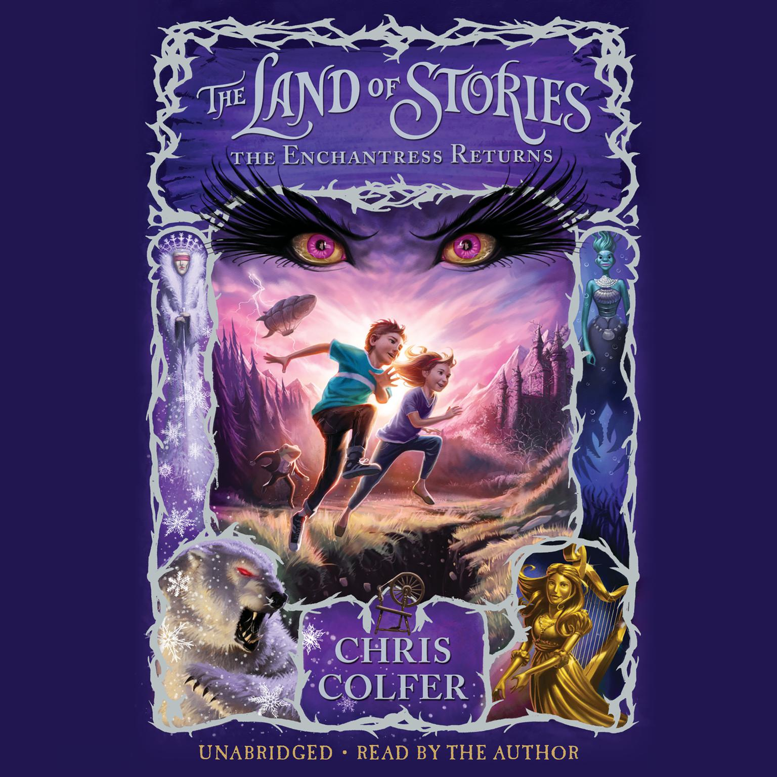 Printable The Land of Stories: The Enchantress Returns Audiobook Cover Art