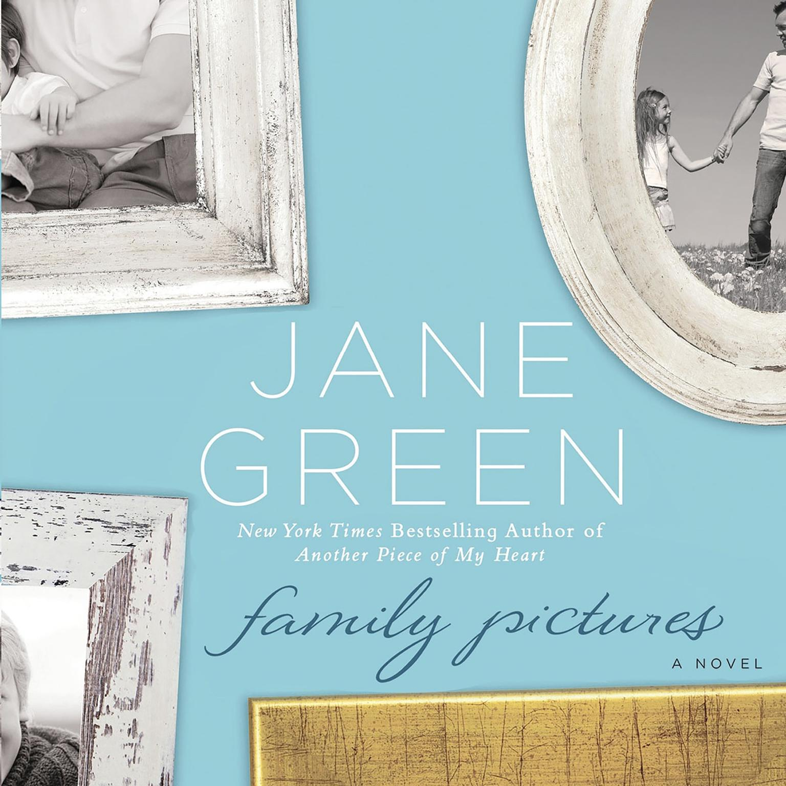 Printable Family Pictures: A Novel Audiobook Cover Art