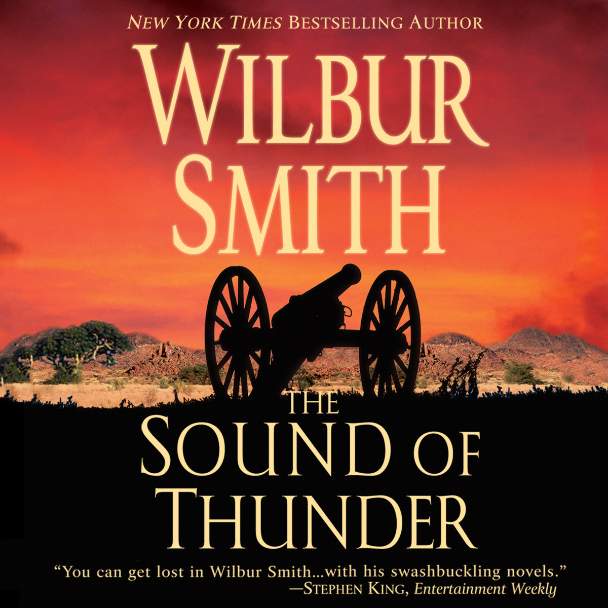 Printable The Sound of Thunder Audiobook Cover Art