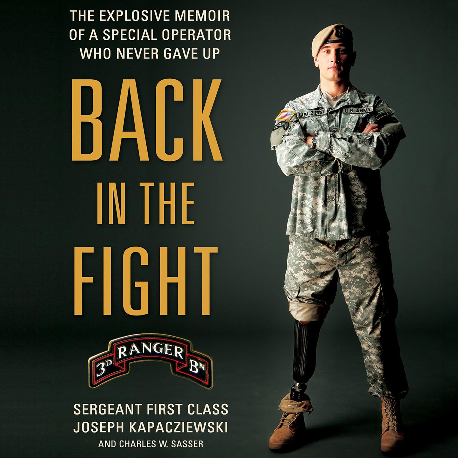 Printable Back in the Fight: The Explosive Memoir of a Special Operator Who Never Gave Up Audiobook Cover Art