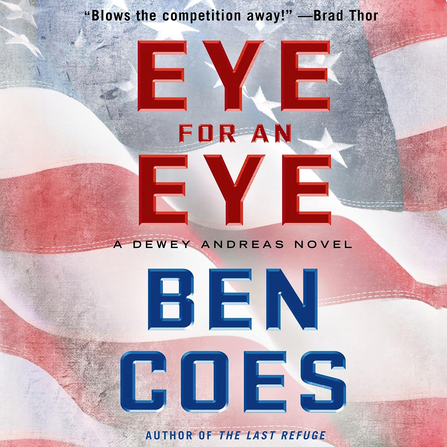 Printable Eye for an Eye: A Dewey Andreas Novel Audiobook Cover Art
