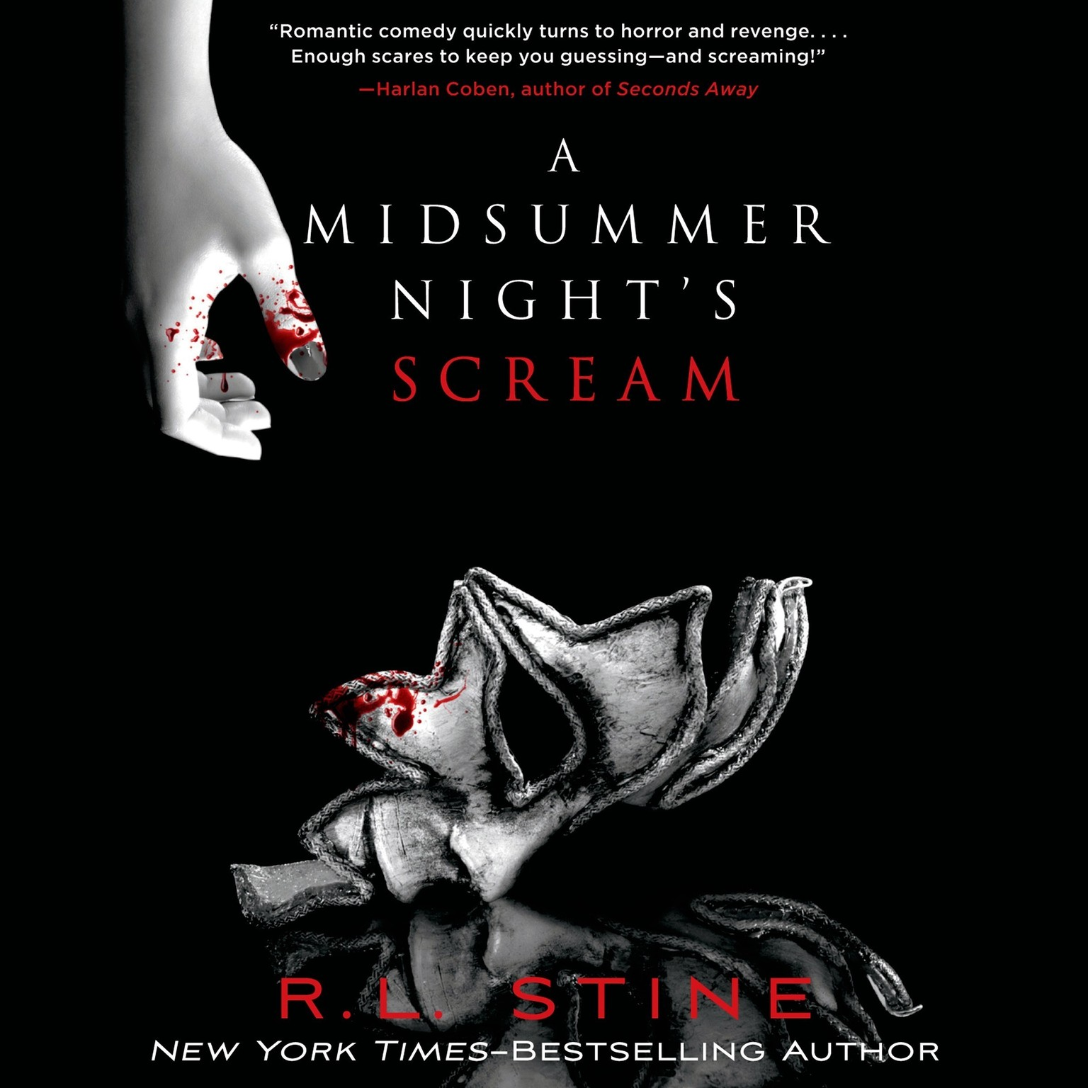 Printable A Midsummer Night's Scream Audiobook Cover Art