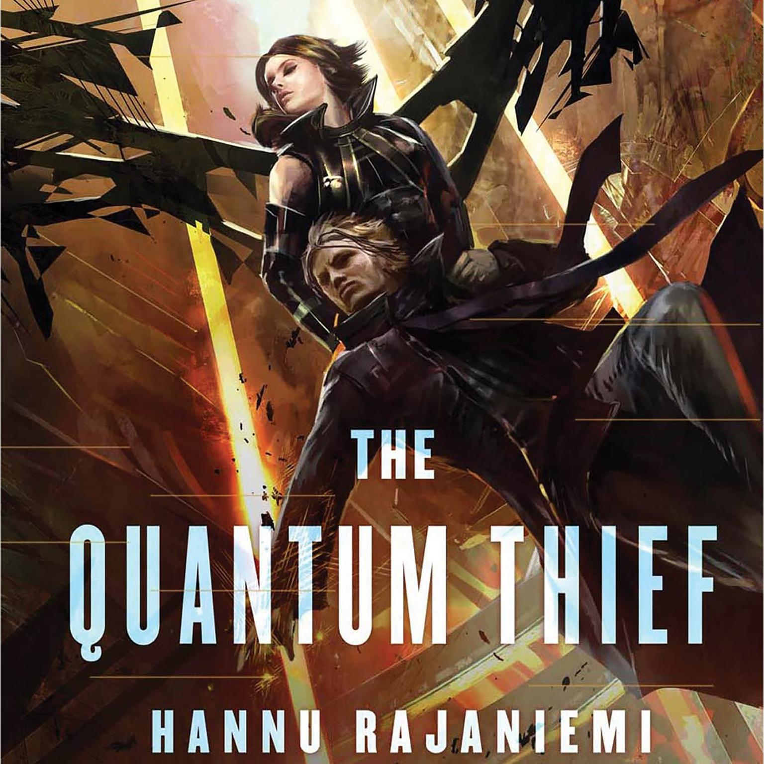Printable The Quantum Thief Audiobook Cover Art