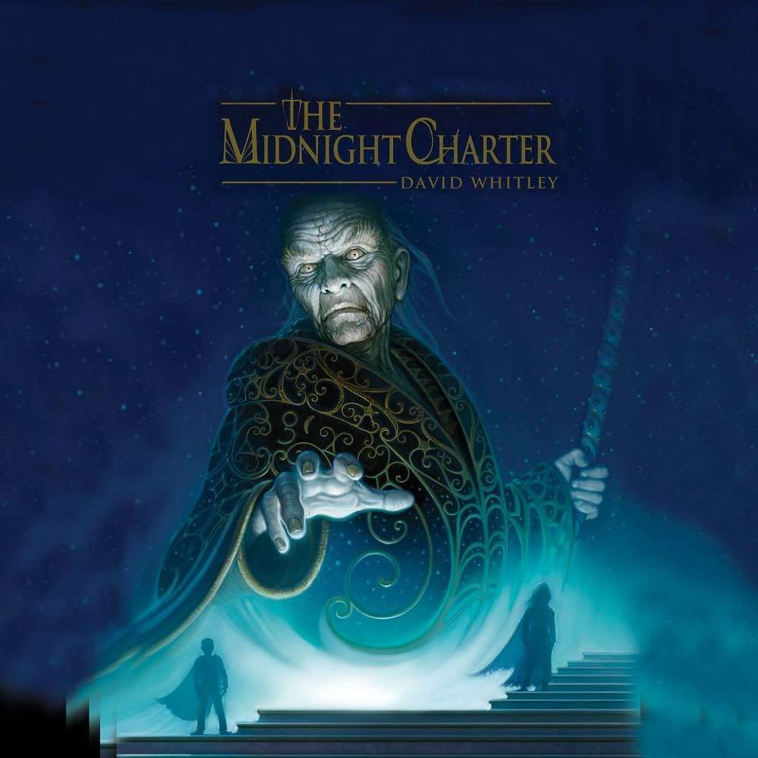 Printable The Midnight Charter Audiobook Cover Art