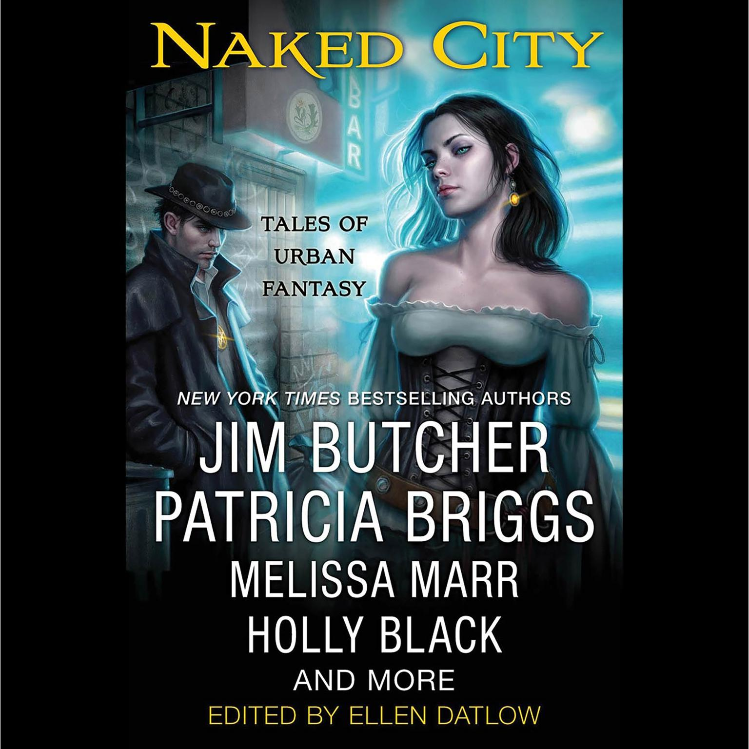 Printable Naked City: Tales of Urban Fantasy Audiobook Cover Art