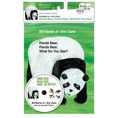 Panda Bear, Panda Bear, What Do You See? Audiobook, by Bill Martin, Eric Carle