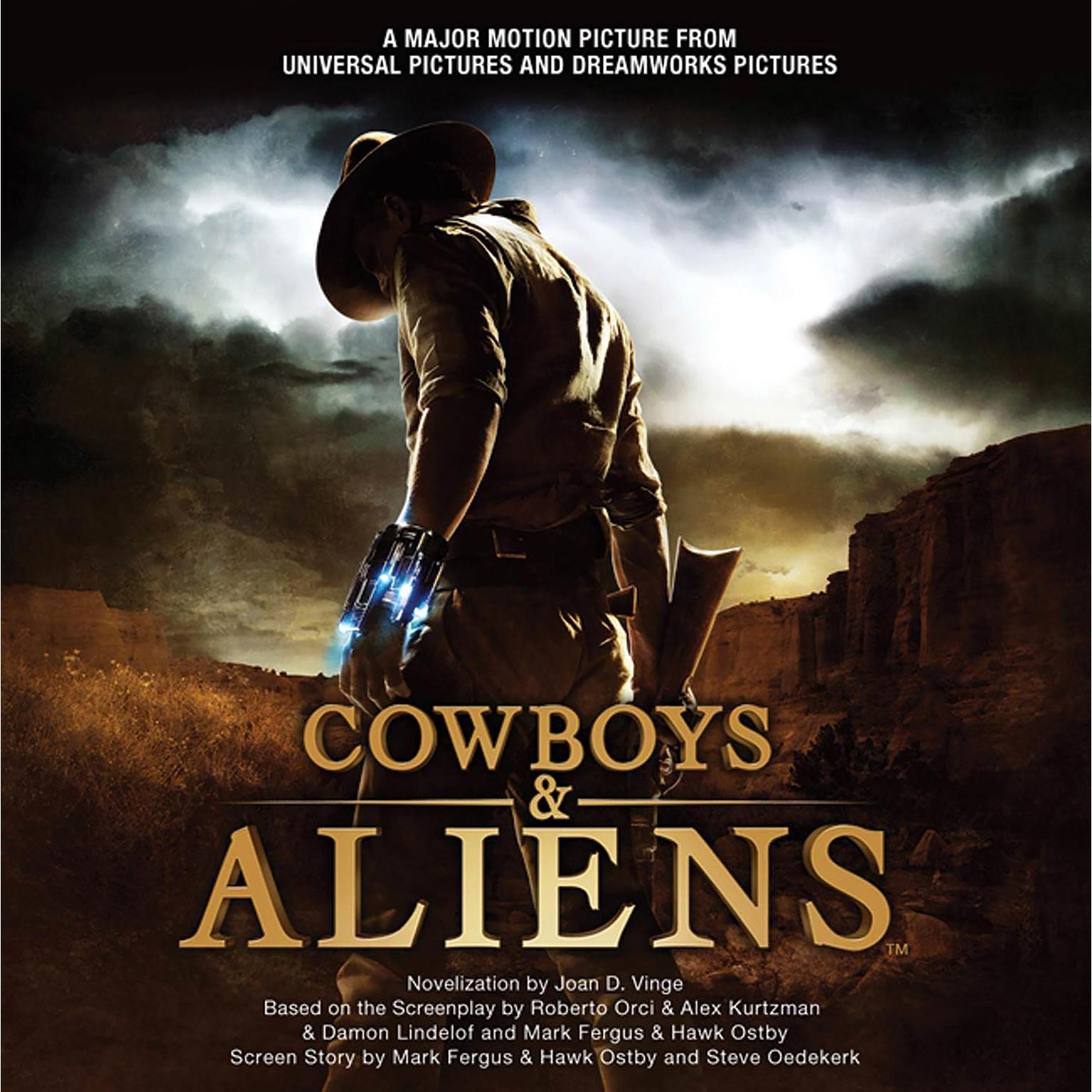 Printable Cowboys & Aliens Audiobook Cover Art