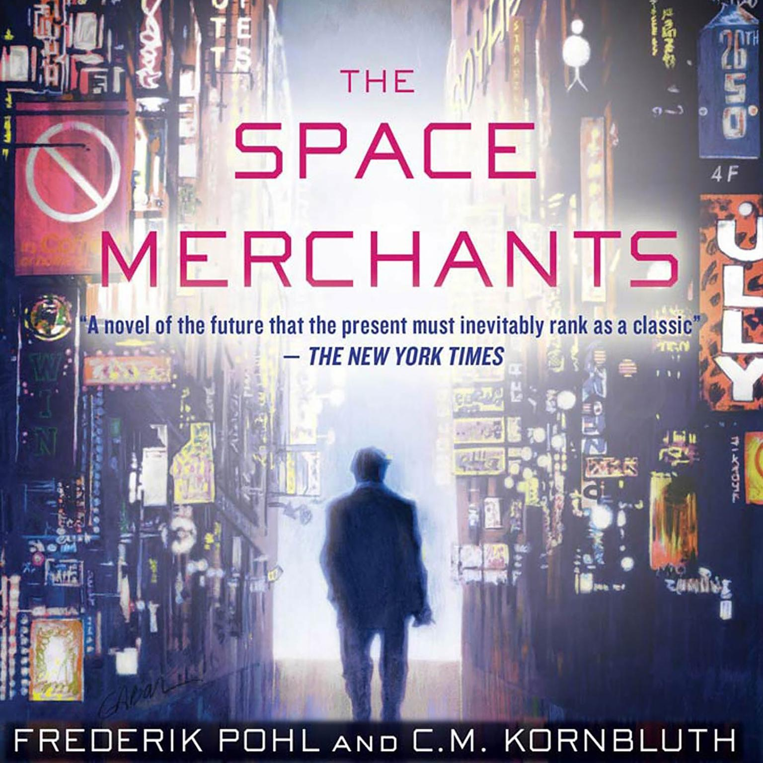 Printable The Space Merchants Audiobook Cover Art