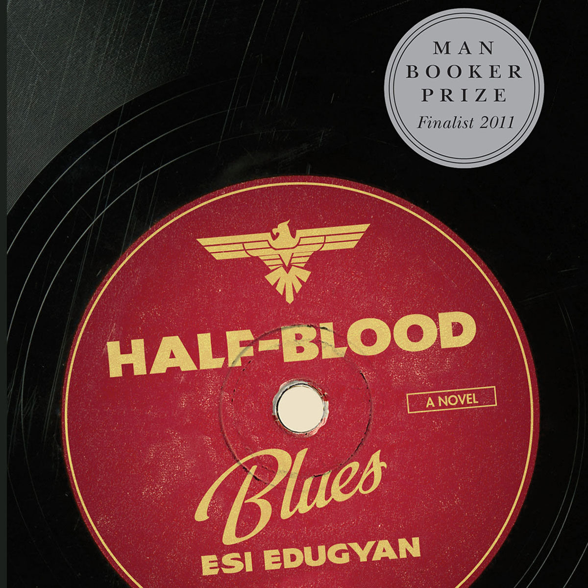 Printable Half-Blood Blues: A Novel Audiobook Cover Art
