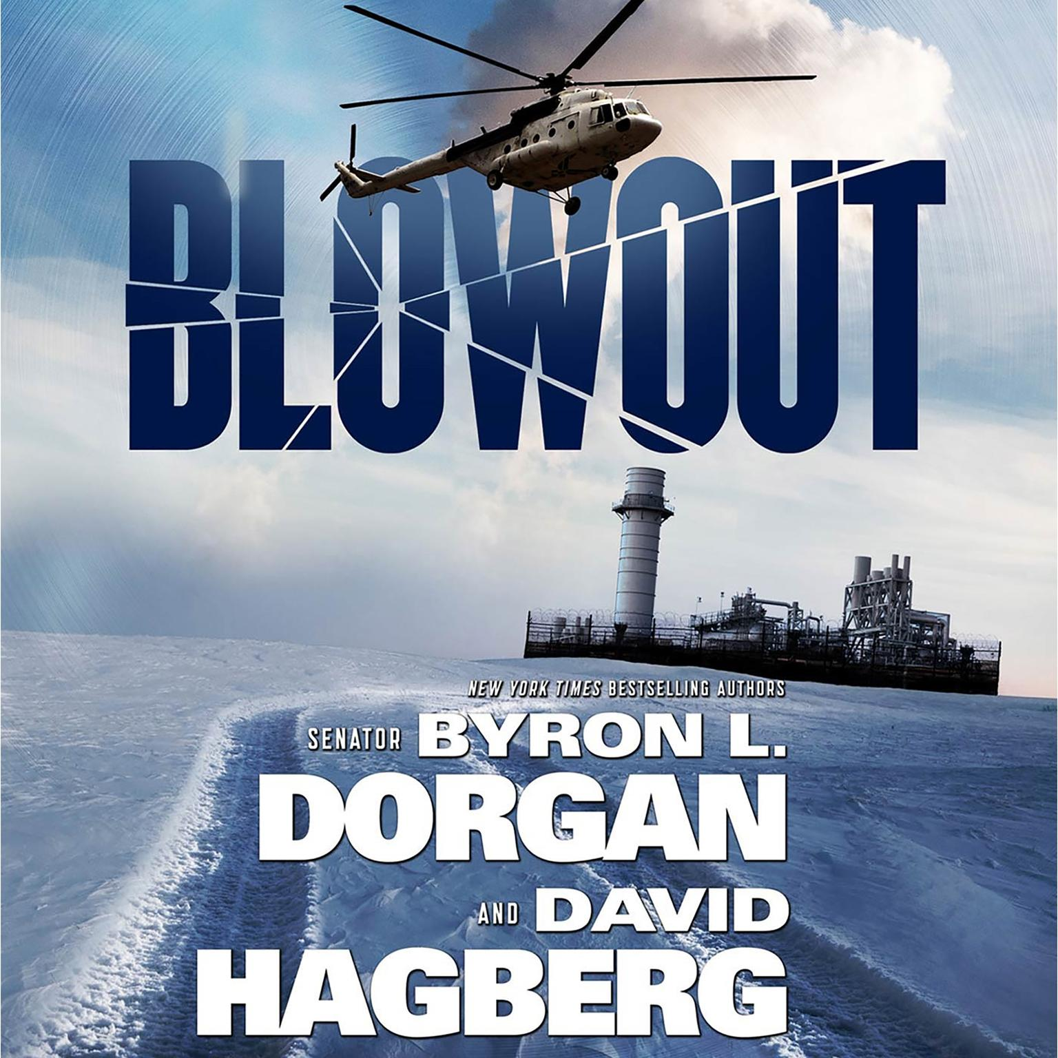 Printable Blowout Audiobook Cover Art