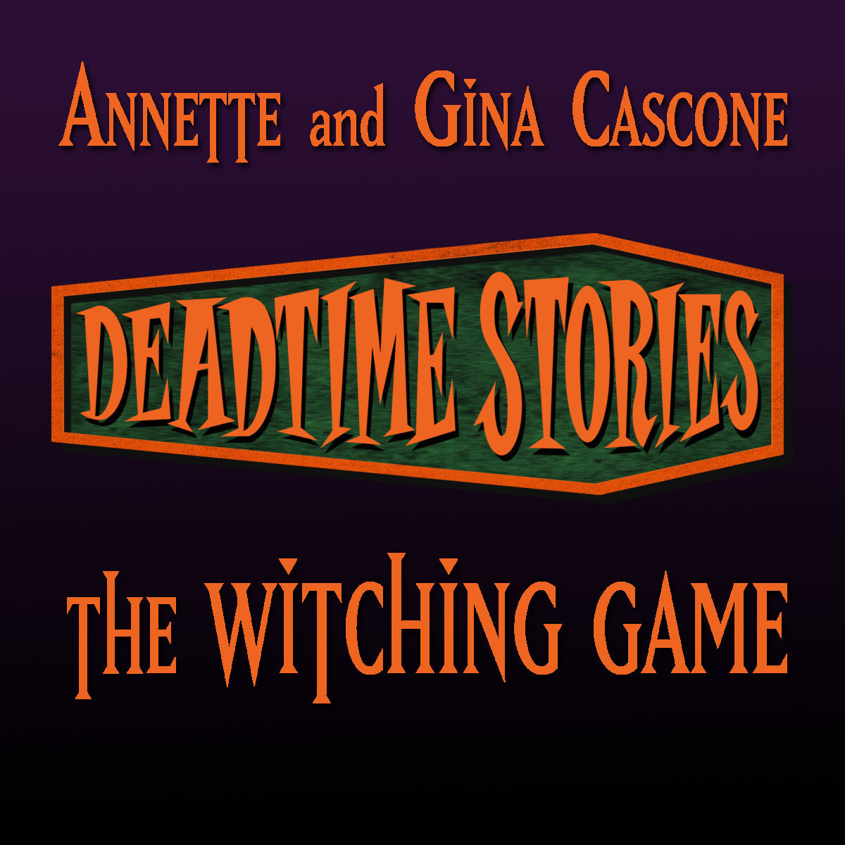 Printable The Witching Game: Deadtime Stories Audiobook Cover Art