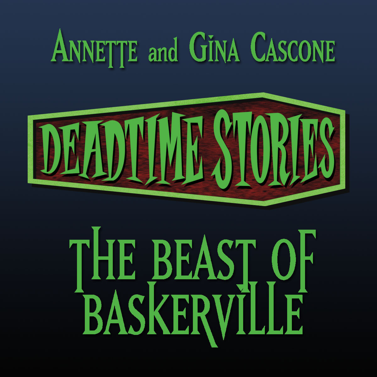 Printable Deadtime Stories: The Beast of Baskerville Audiobook Cover Art
