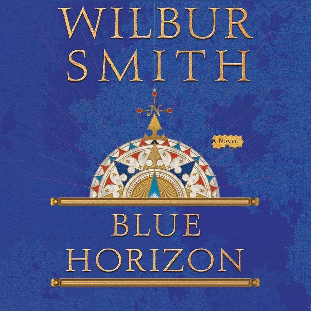 Printable Blue Horizon Audiobook Cover Art
