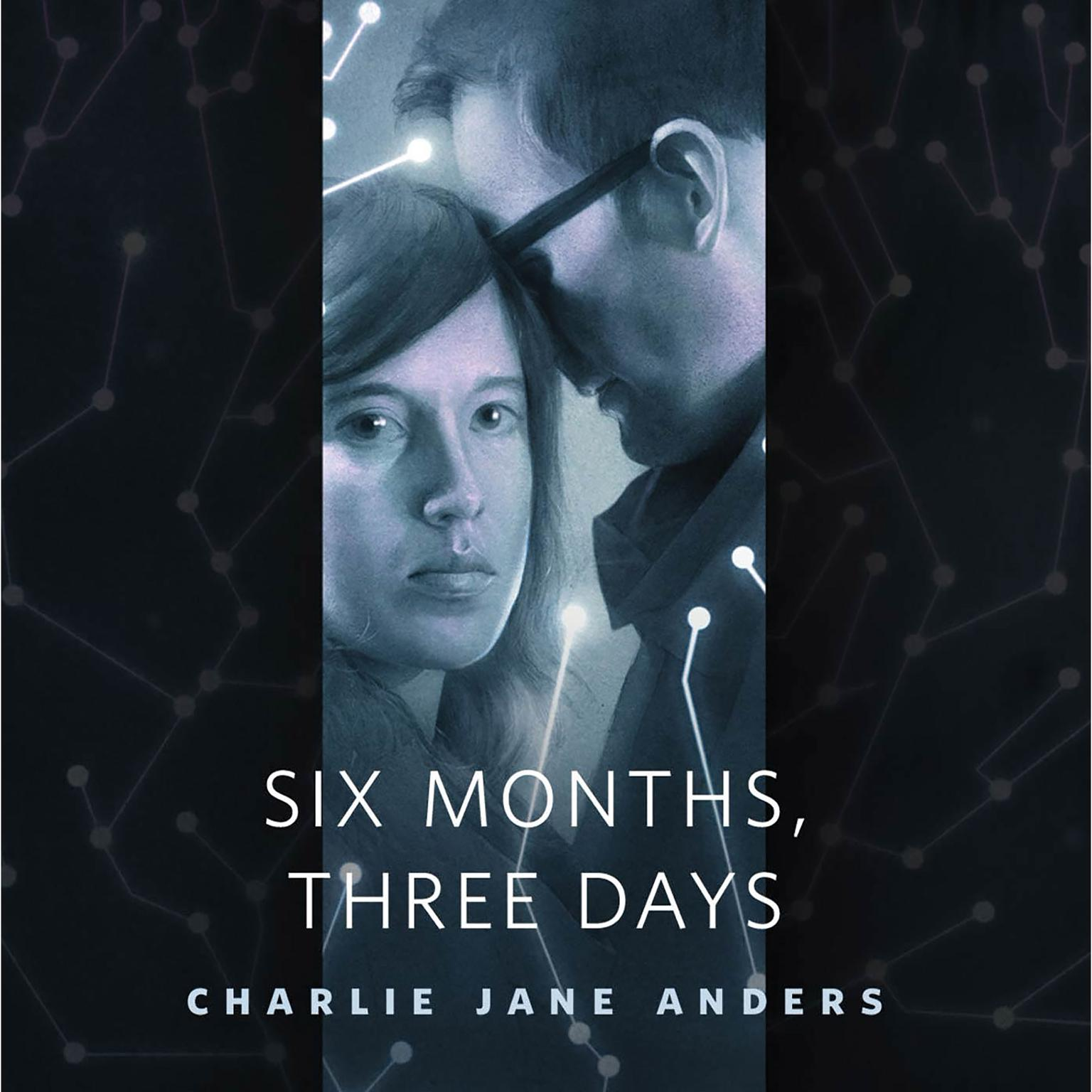 Printable Six Months, Three Days: A Tor.com Original Audiobook Cover Art
