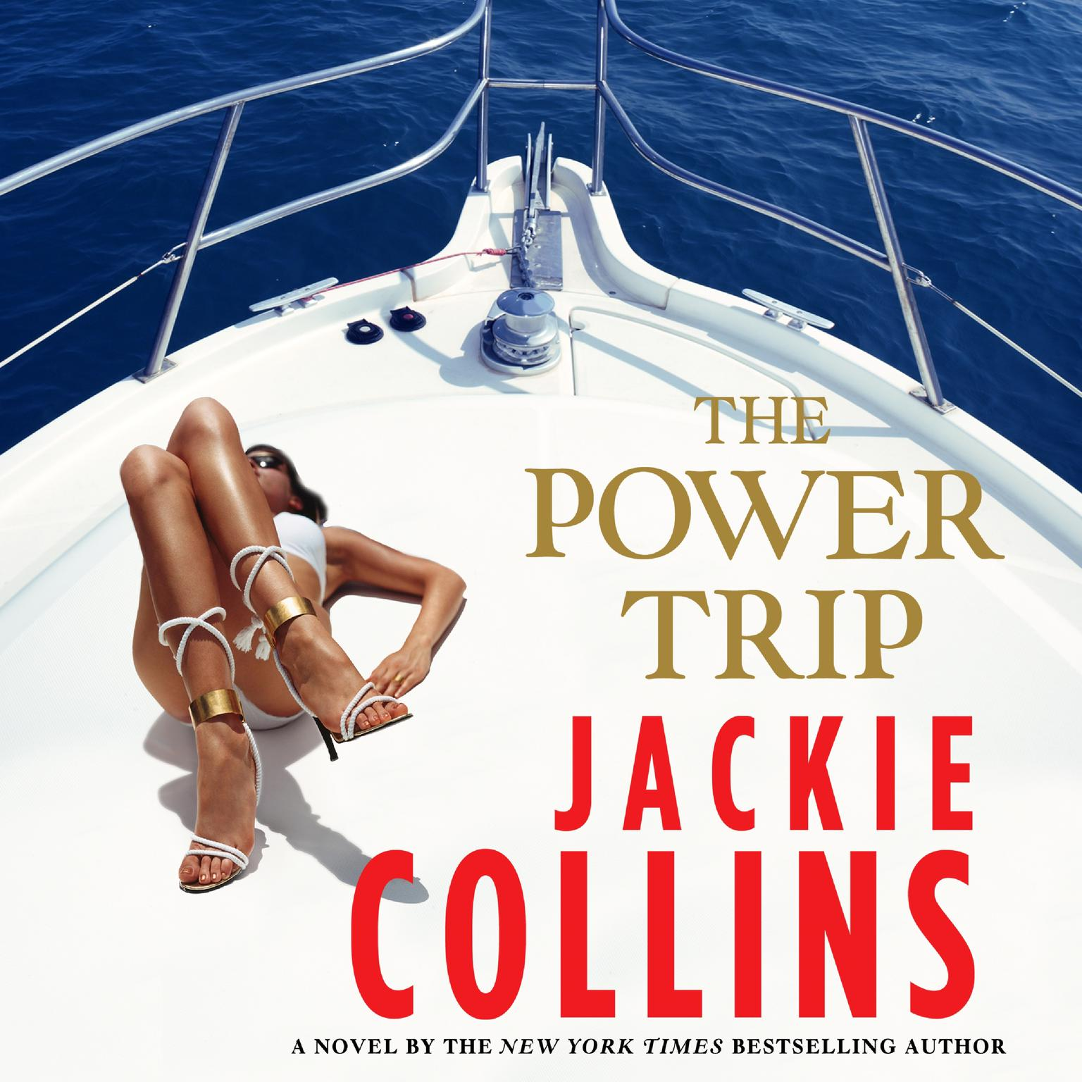 Printable The Power Trip Audiobook Cover Art