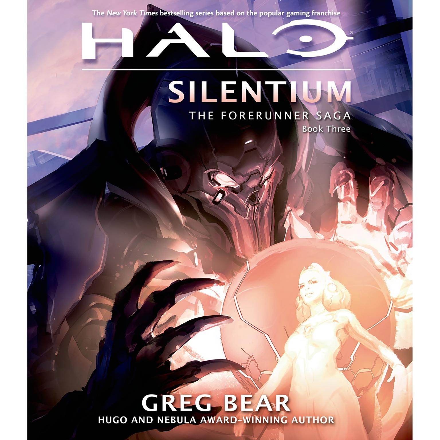 Printable Halo: Silentium: Book Three of the Forerunner Saga Audiobook Cover Art