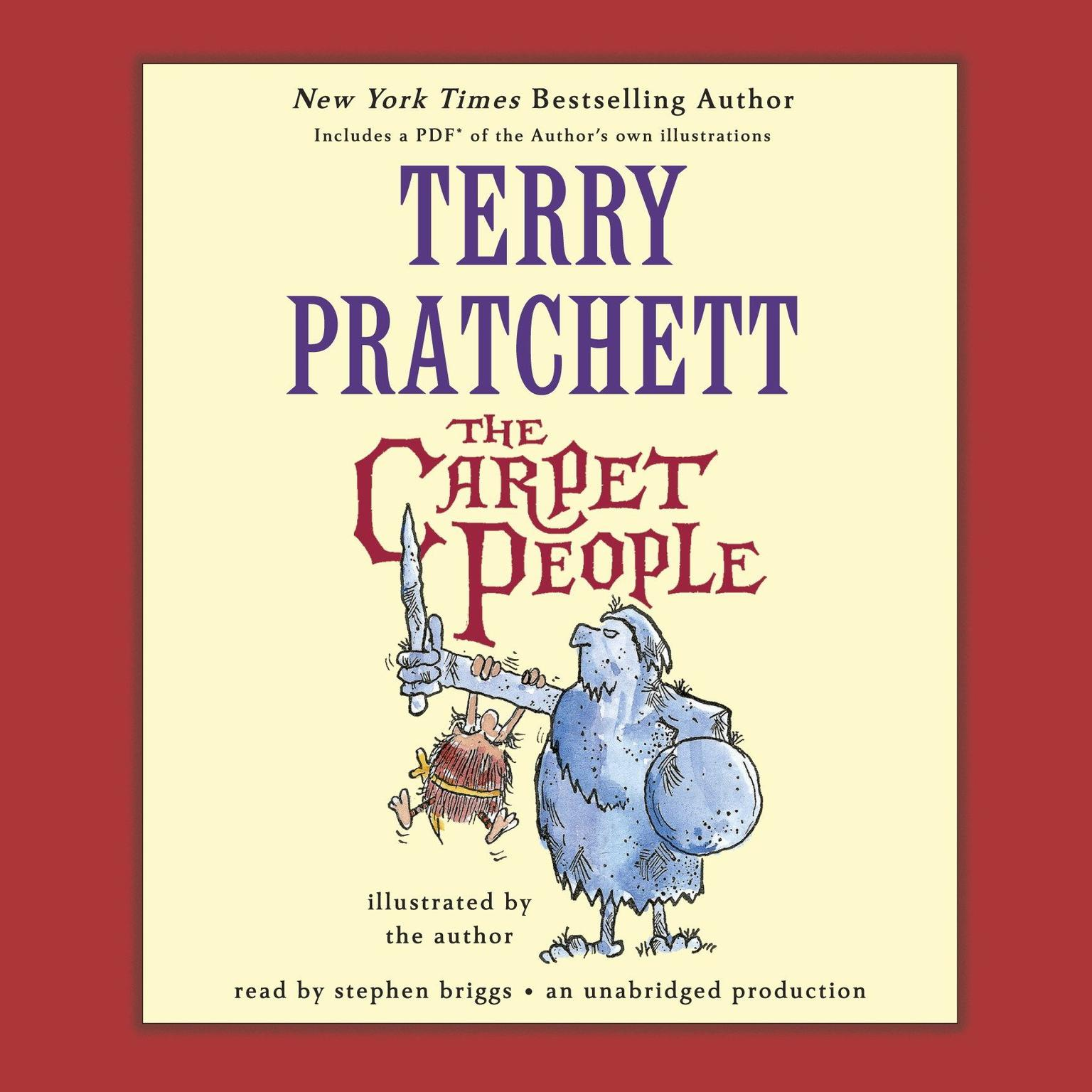 Printable The Carpet People Audiobook Cover Art