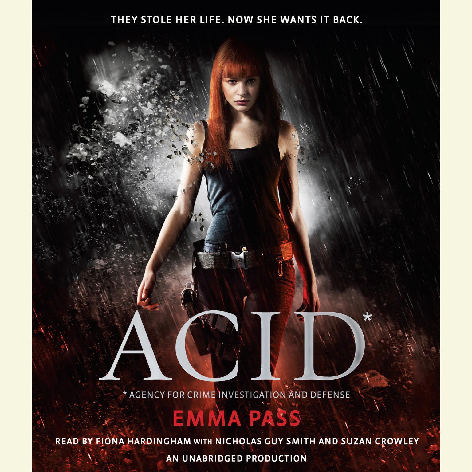 Printable ACID Audiobook Cover Art